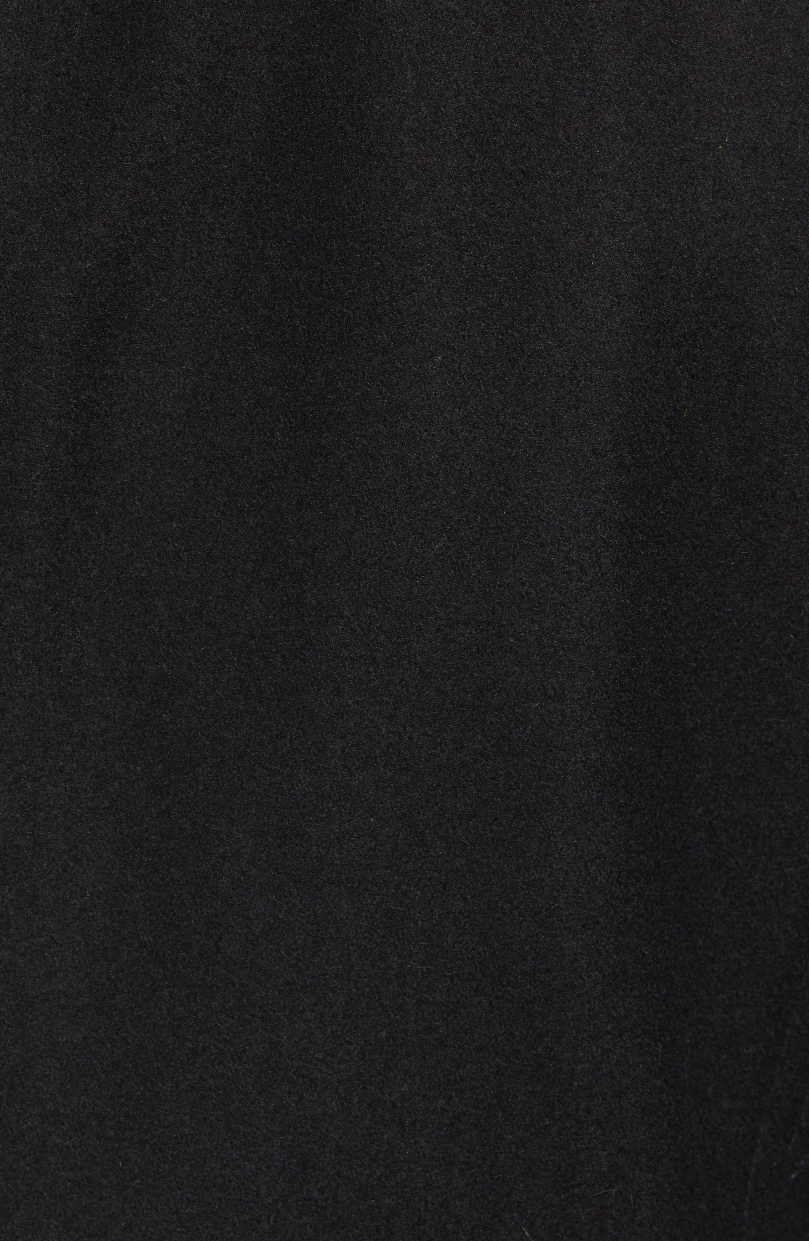 MARC NEW YORK, Barlow Wool Blend Bomber Jacket, Alternate thumbnail 7, color, 001