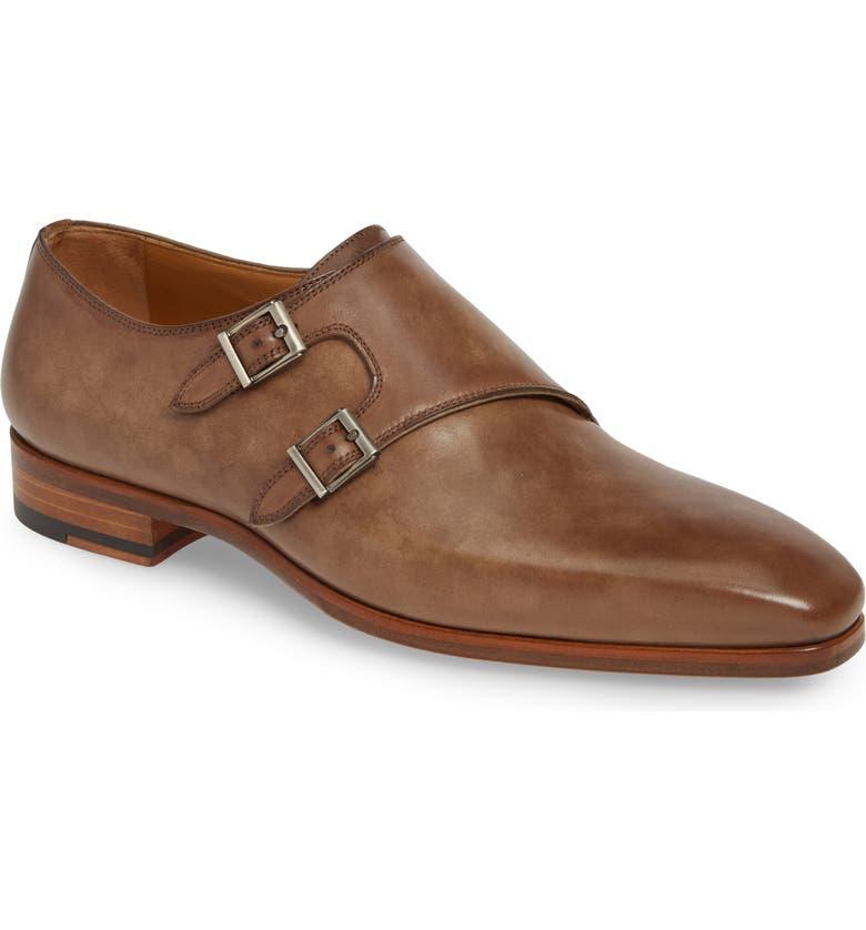 Magnanni Shoes Ezra Double Monk Strap Shoe