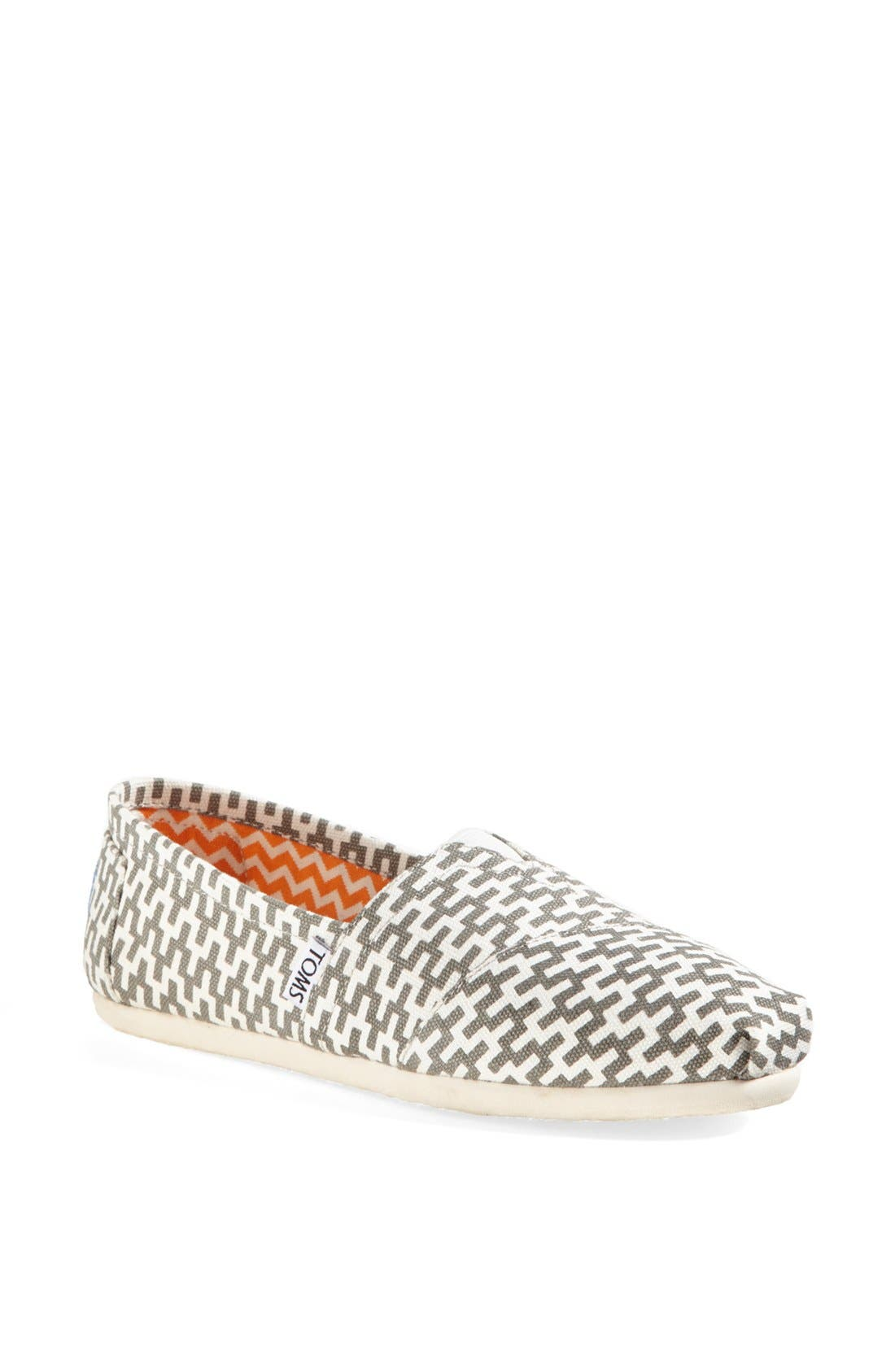 TOMS 'Classic - Jonathan Adler' Slip-On, Main, color, 020