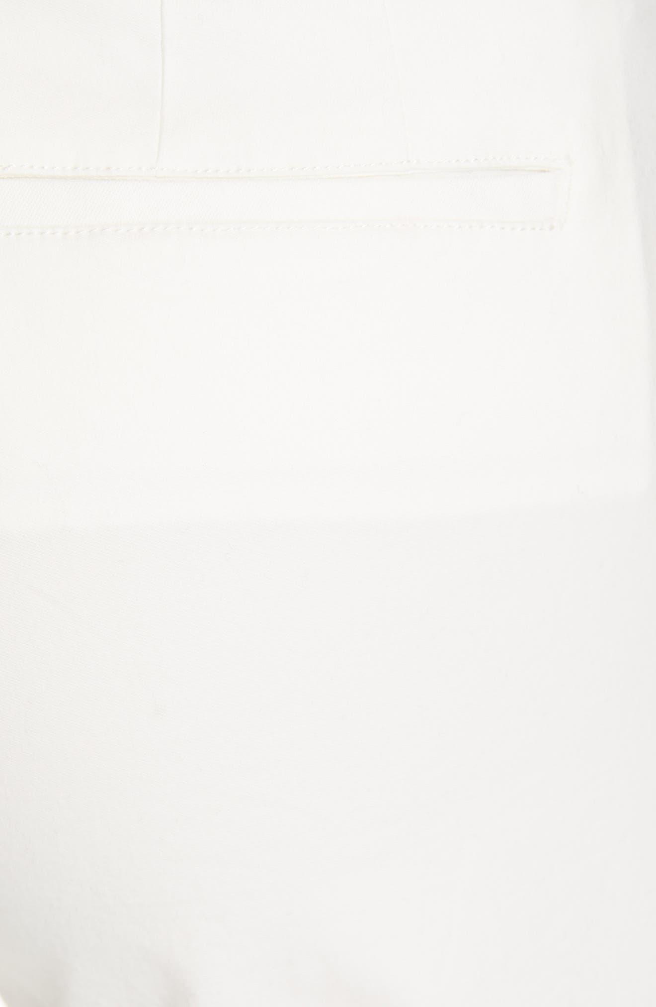 ATM ANTHONY THOMAS MELILLO, Enzyme Wash Crop Boyfriend Pants, Alternate thumbnail 6, color, WHITE