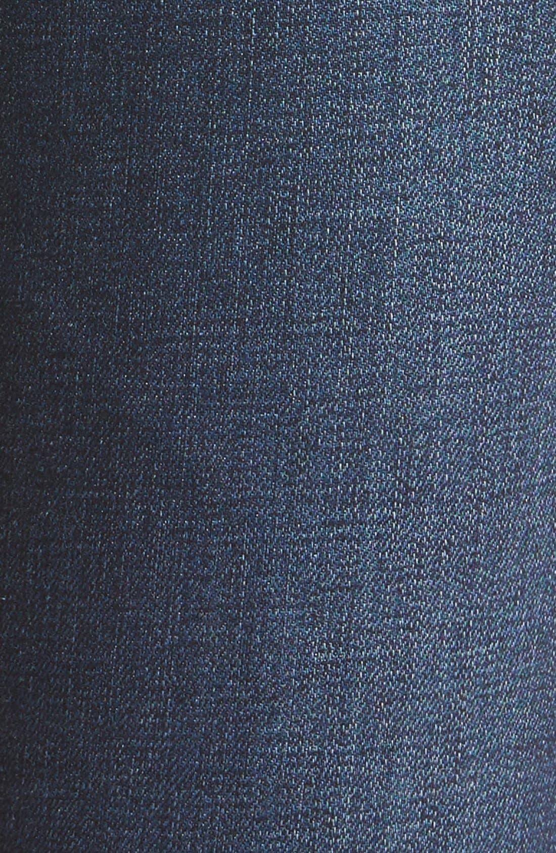 AG, Harper Slim Straight Leg Jeans, Alternate thumbnail 7, color, SMITTEN
