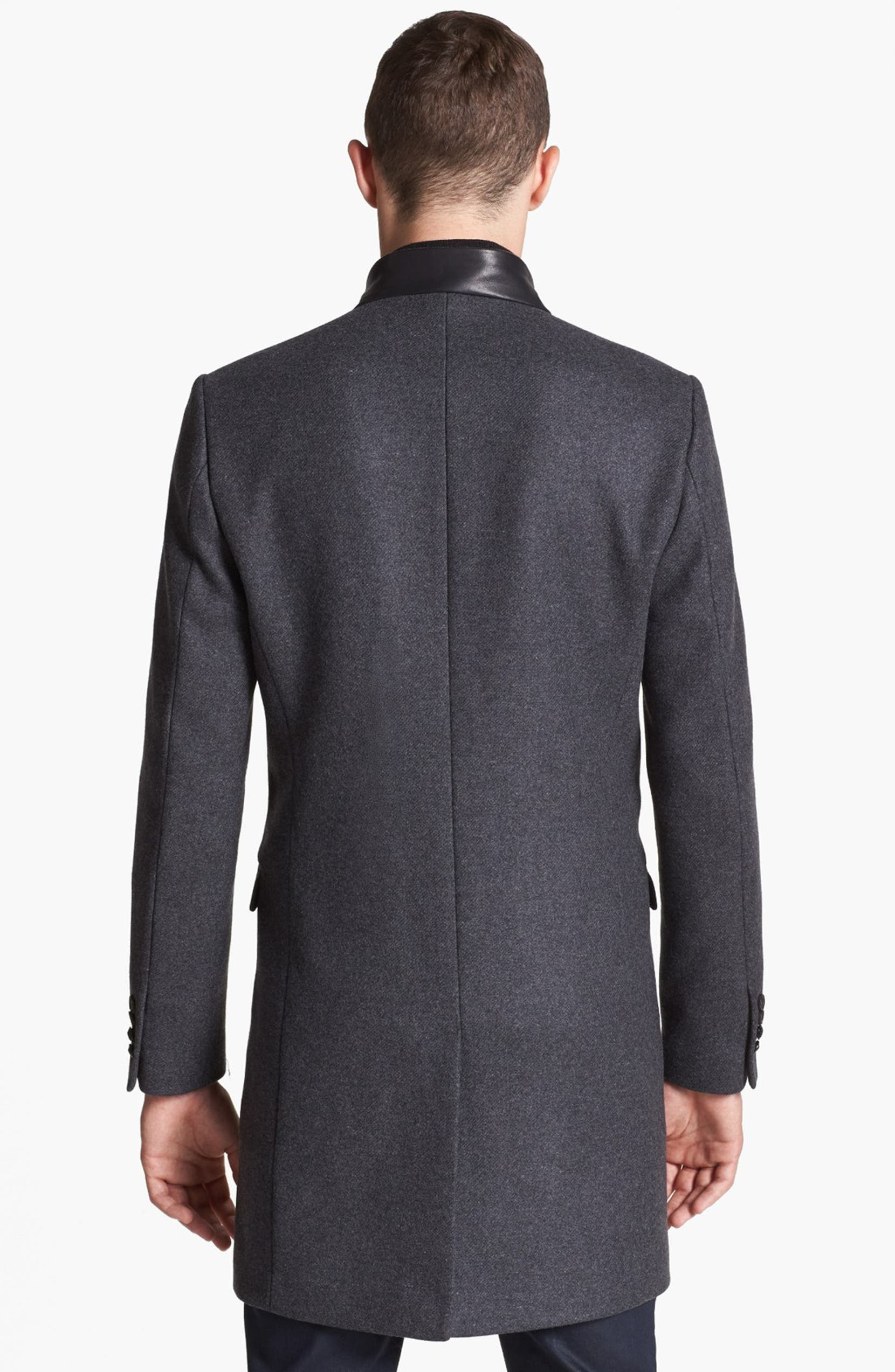 68805e863fc The Kooples Topcoat with Zip Out Vest | Nordstrom