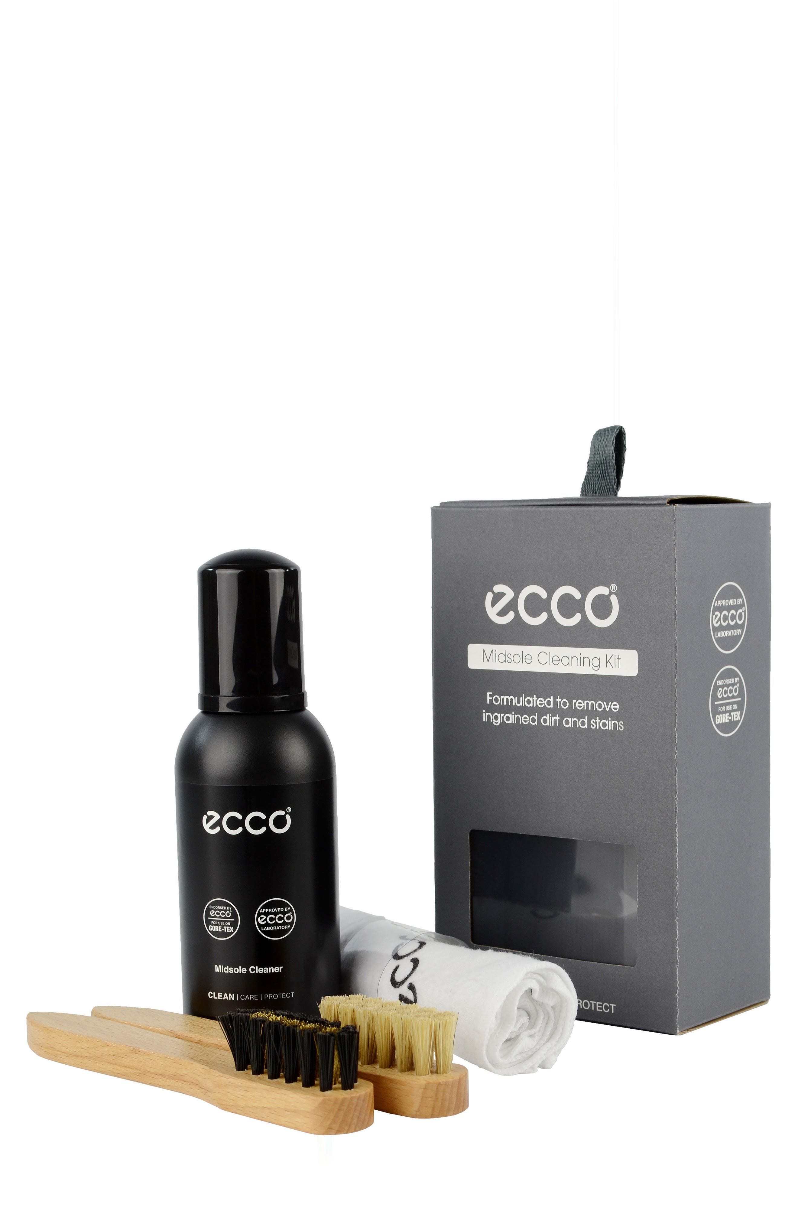 ECCO Midsole Cleaning Kit, Main, color, TRANSPARENT
