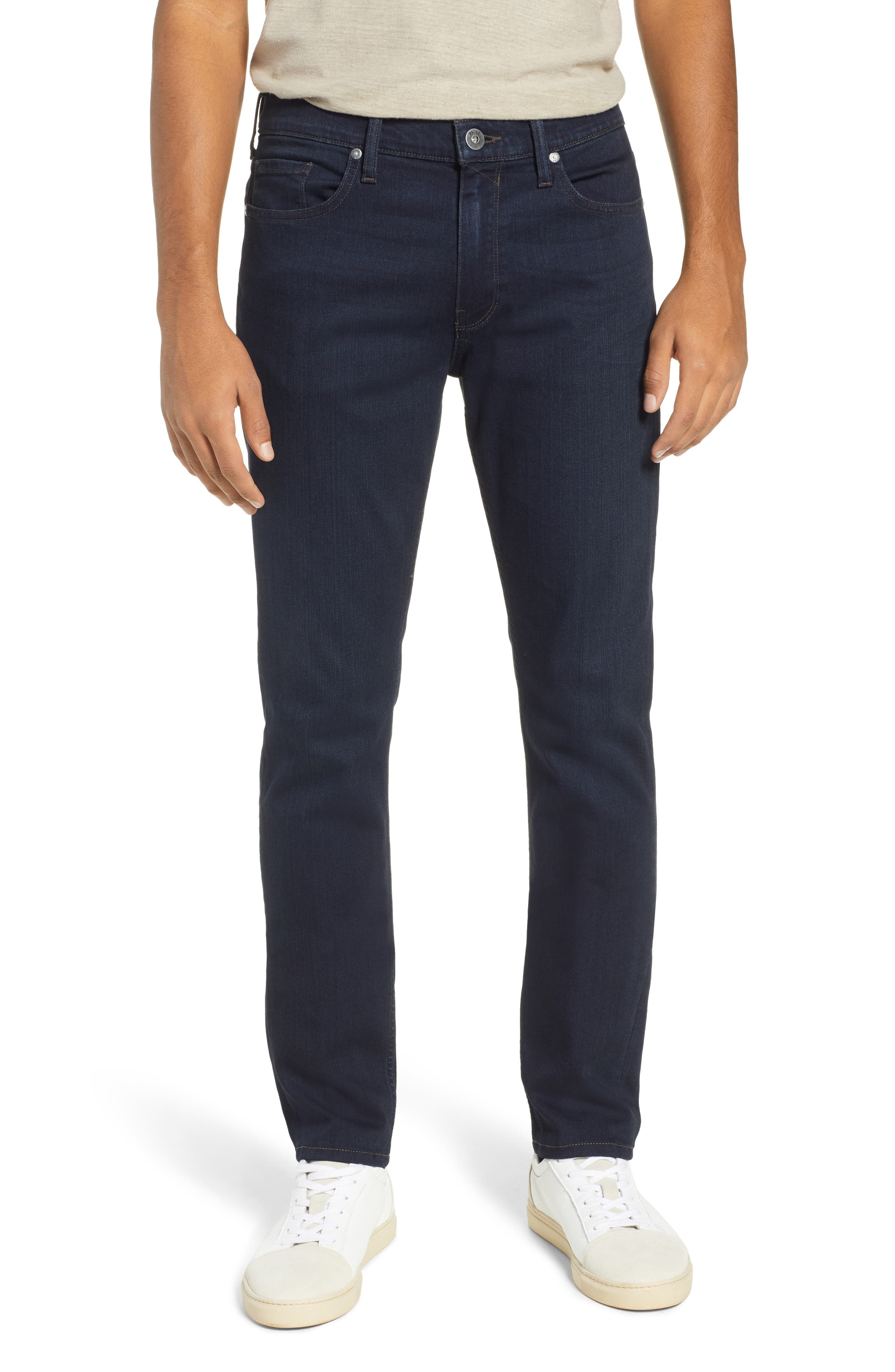 PAIGE, Transcend – Lennox Slim Fit Jeans, Main thumbnail 1, color, DOMINIC