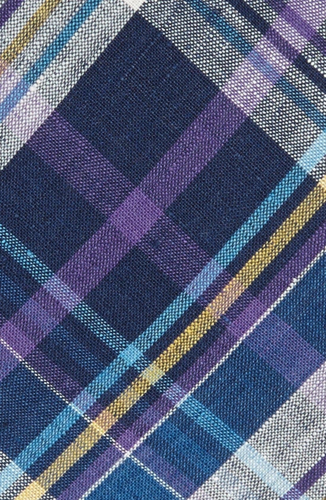 ROBERT STEWART, Woven Tie, Alternate thumbnail 2, color, 500