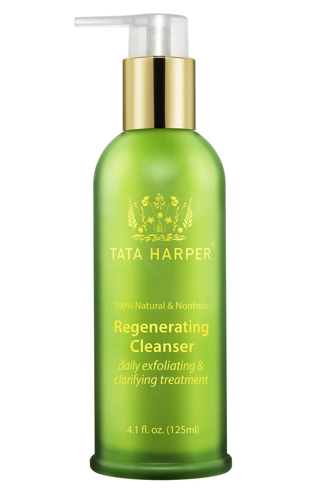 TATA HARPER SKINCARE, Regenerating Cleanser, Alternate thumbnail 4, color, NO COLOR