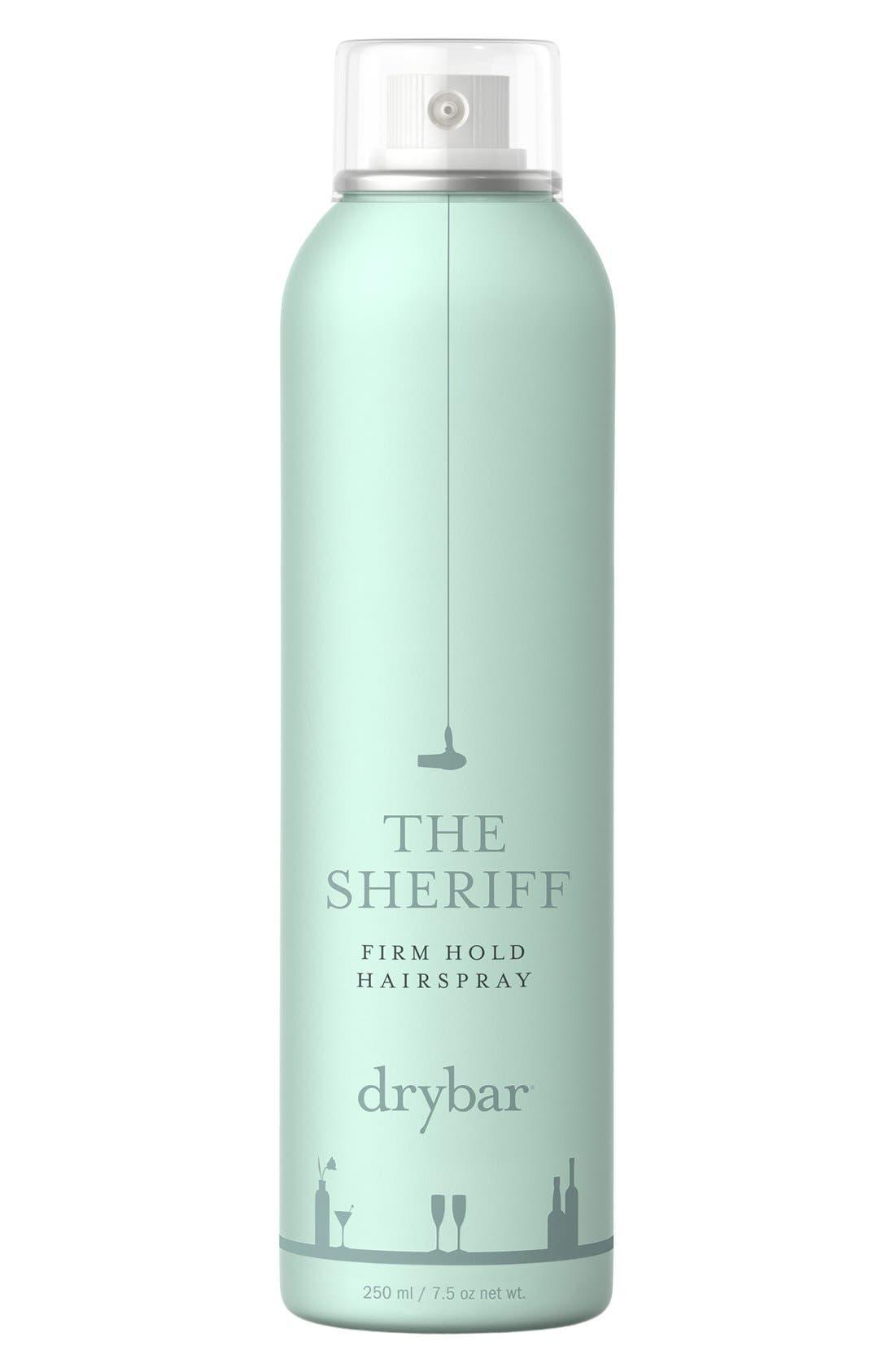 DRYBAR, The Sheriff Medium Hold Hairspray, Alternate thumbnail 2, color, 000