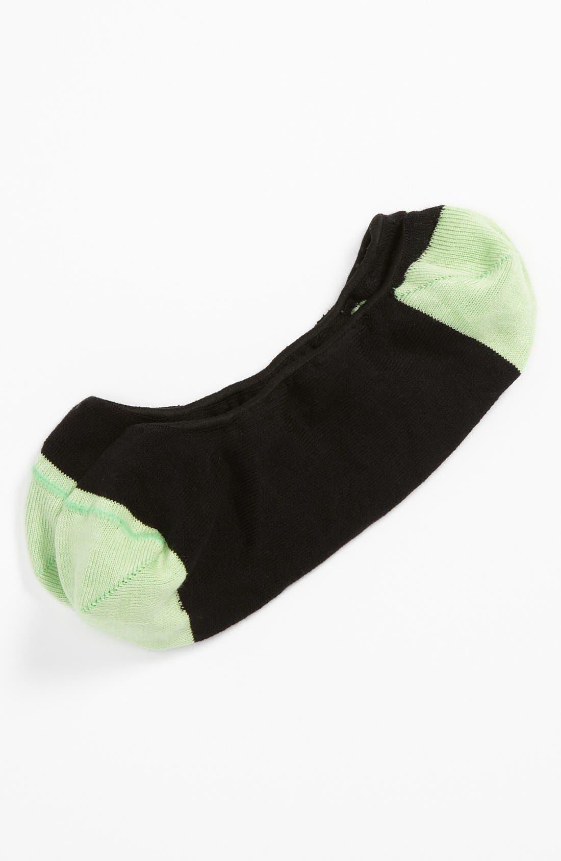 HOOK + ALBERT, Loafer Socks, Main thumbnail 1, color, 001