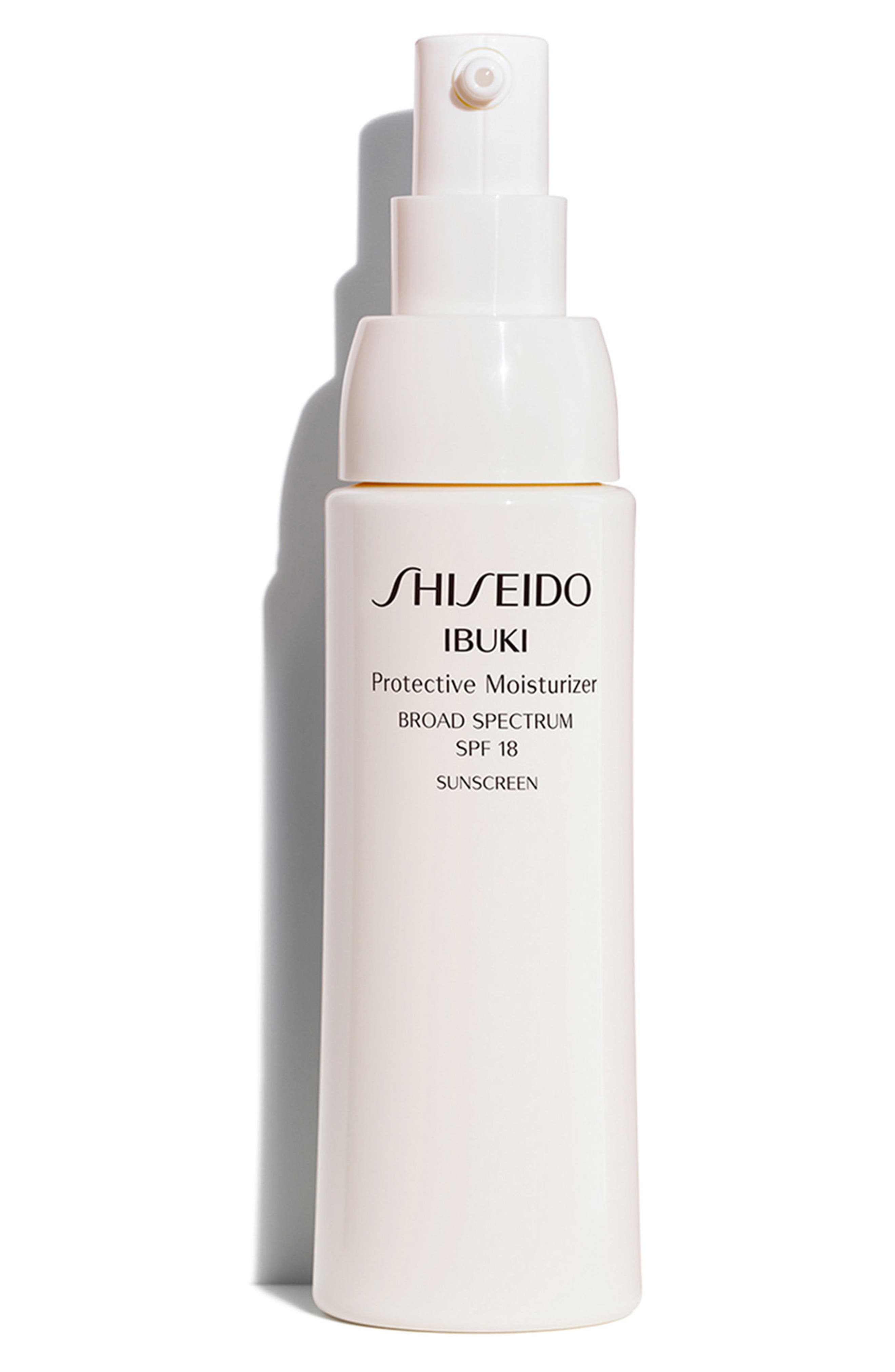 SHISEIDO, Ibuki Protective Moisturizer SPF 18, Alternate thumbnail 2, color, NO COLOR