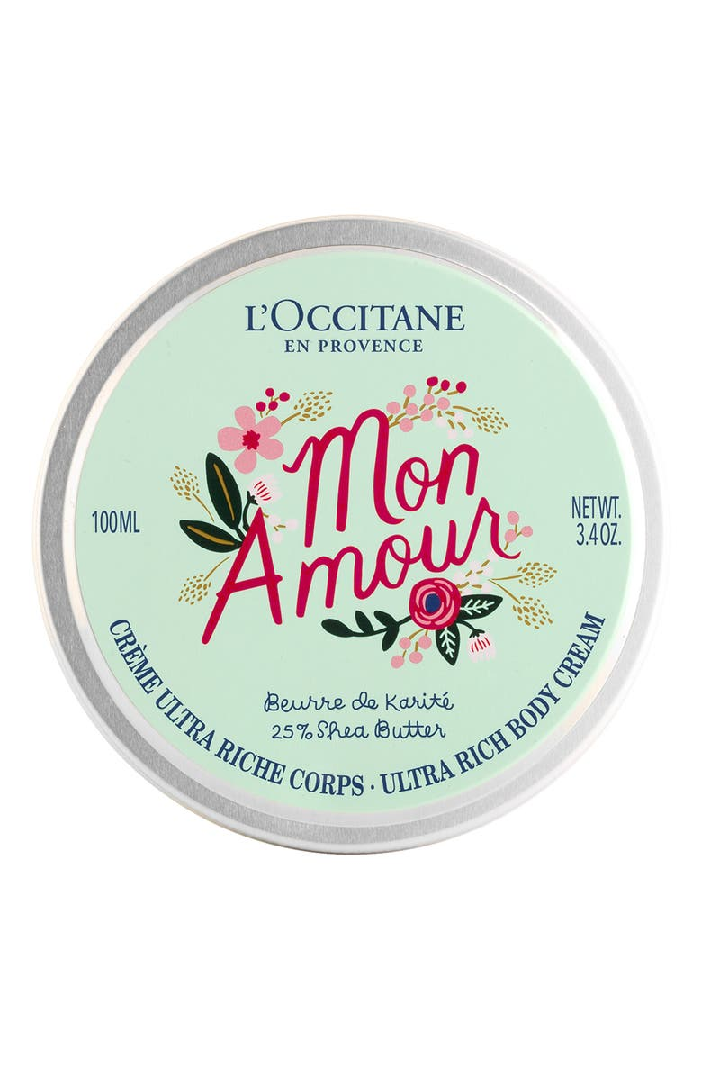 L'occitane X RIFLE PAPER CO. SHEA BUTTER ULTRA RICH BODY CREAM
