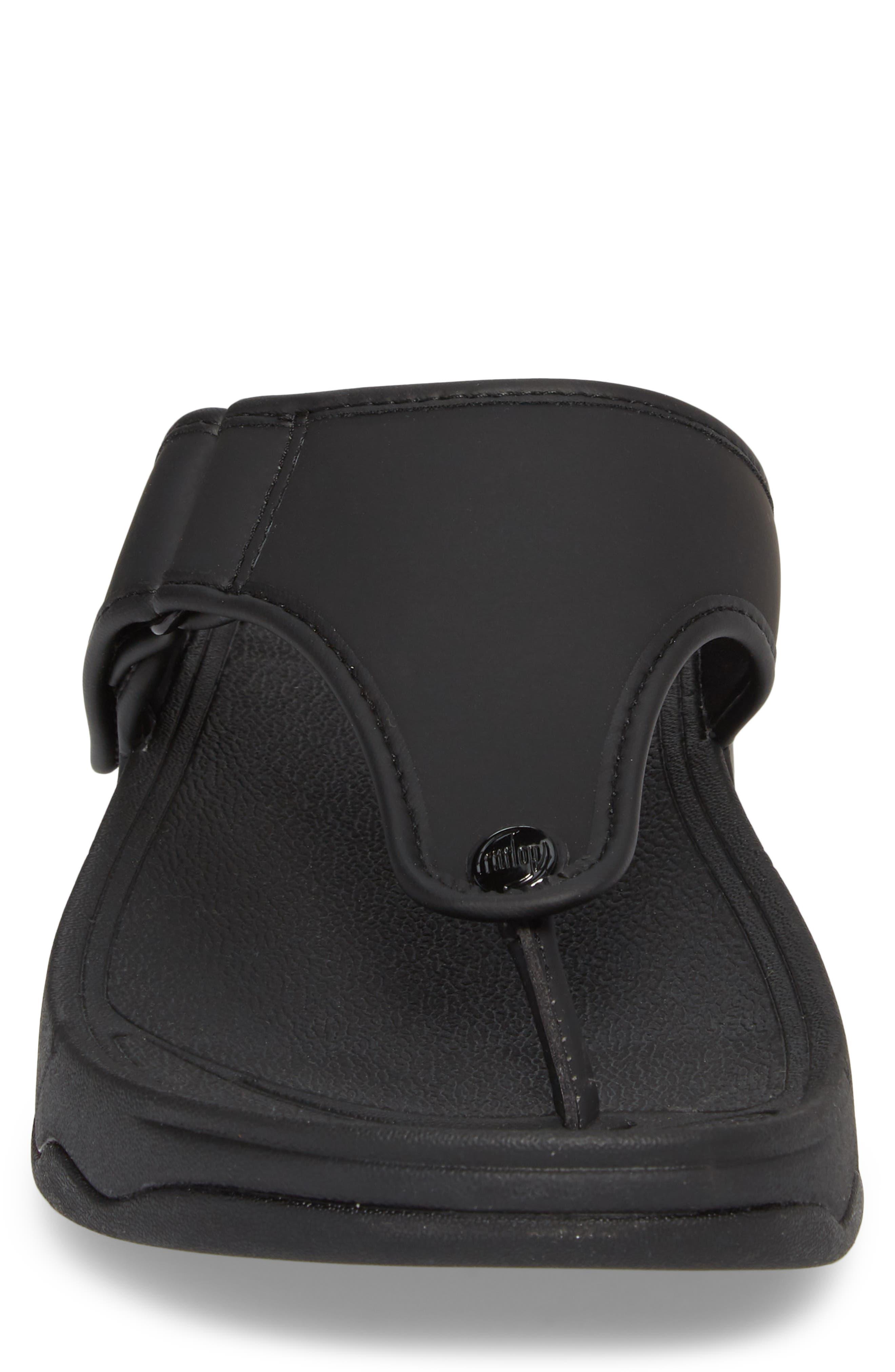 FITFLOP, Trakk<sup>™</sup> II Sandal, Alternate thumbnail 4, color, BLACK NEOPRENE