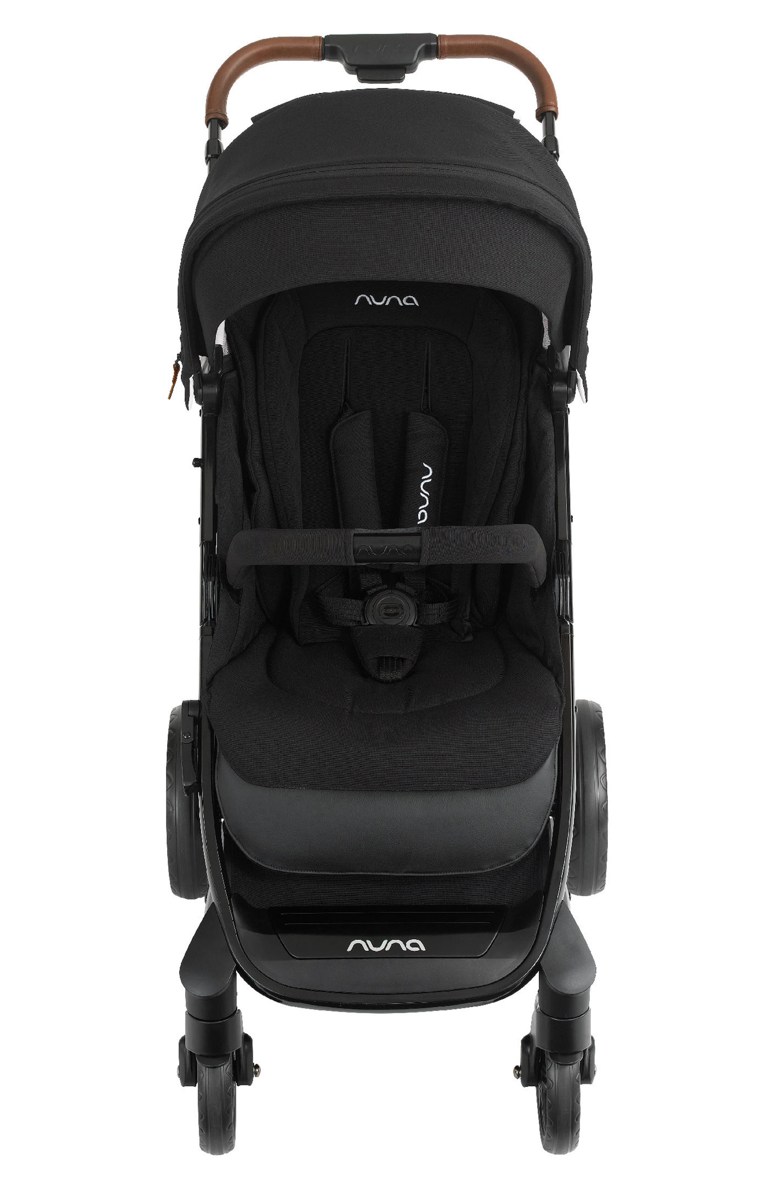 NUNA, 2019 TAVO<sup>™</sup> Stroller & PIPA<sup>™</sup> Lite LX Car Seat Travel System, Alternate thumbnail 8, color, CAVIAR