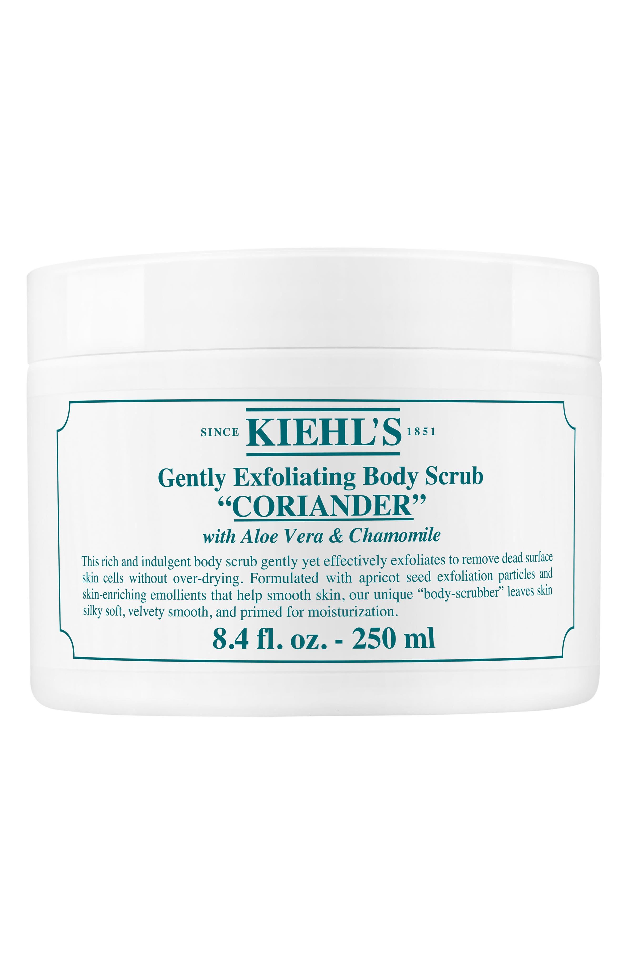 KIEHL'S SINCE 1851 Gentle Exfoliating Body Scrub, Main, color, CORIANDER