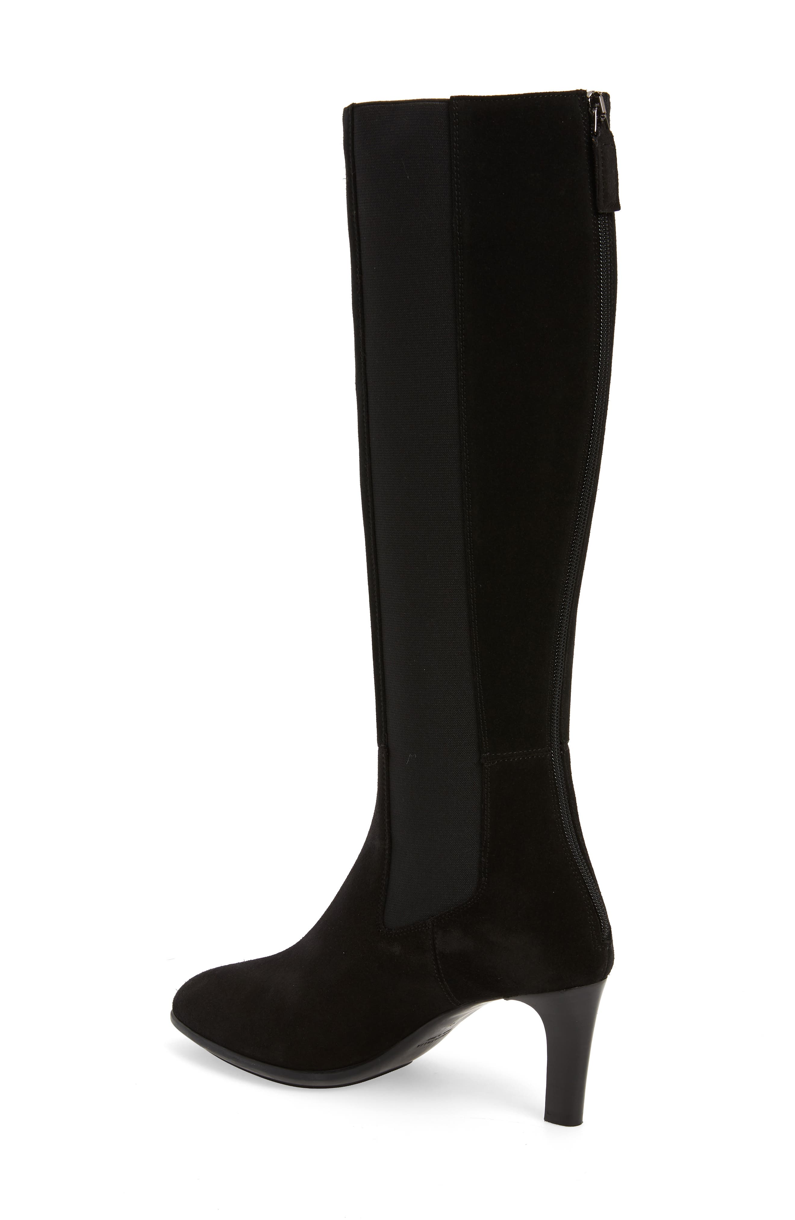 AQUATALIA, Dahliana Weatherproof Knee High Boot, Alternate thumbnail 2, color, BLACK