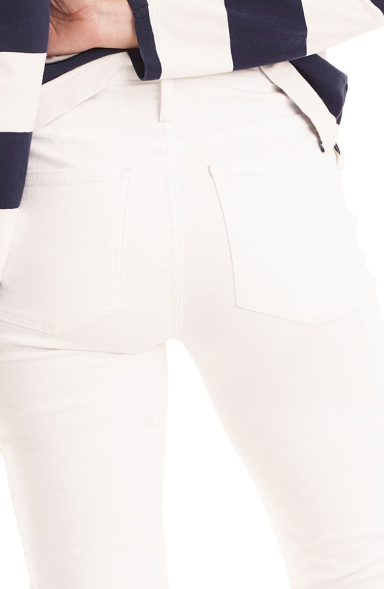 345169a9842 J.Crew Demi-Boot Crop Jeans In White | ModeSens