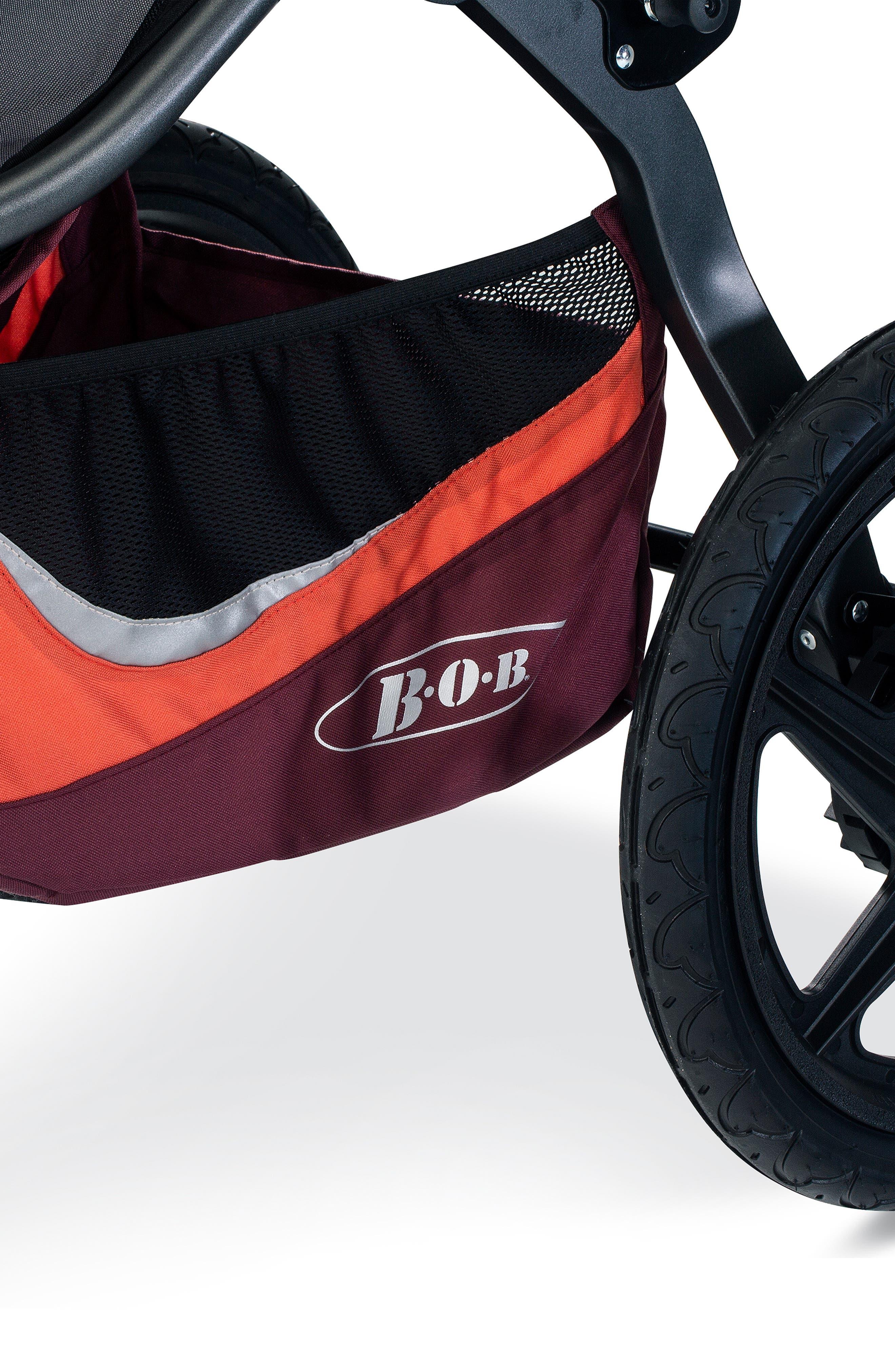 BOB, Revolution FLEX 3 Single Jogging Stroller, Alternate thumbnail 3, color, SEDONA ORANGE