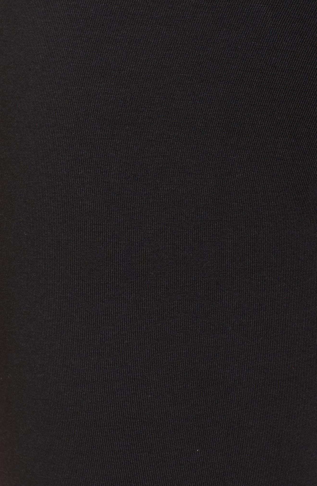 ADIDAS ORIGINALS, adidas 3-Stripes Tights, Alternate thumbnail 6, color, 001