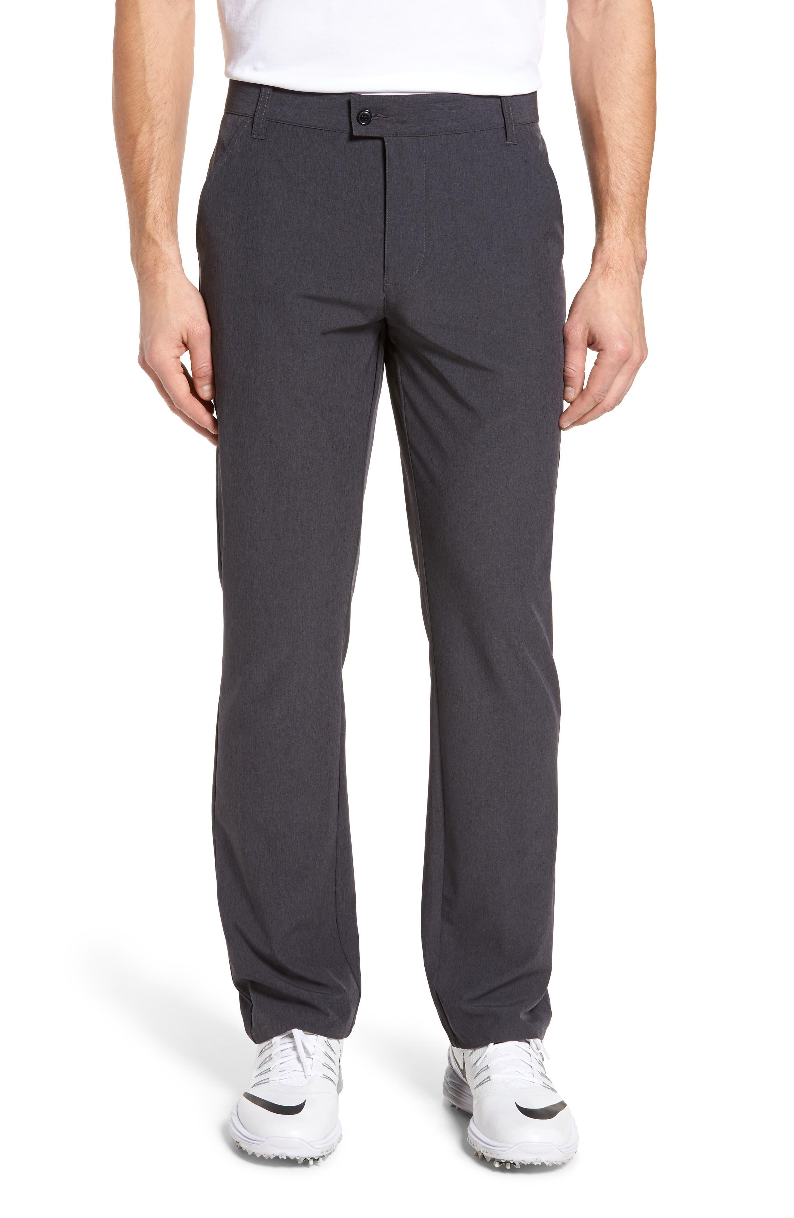 TRAVISMATHEW Pantladdium Pants, Main, color, HEATHER BLACK