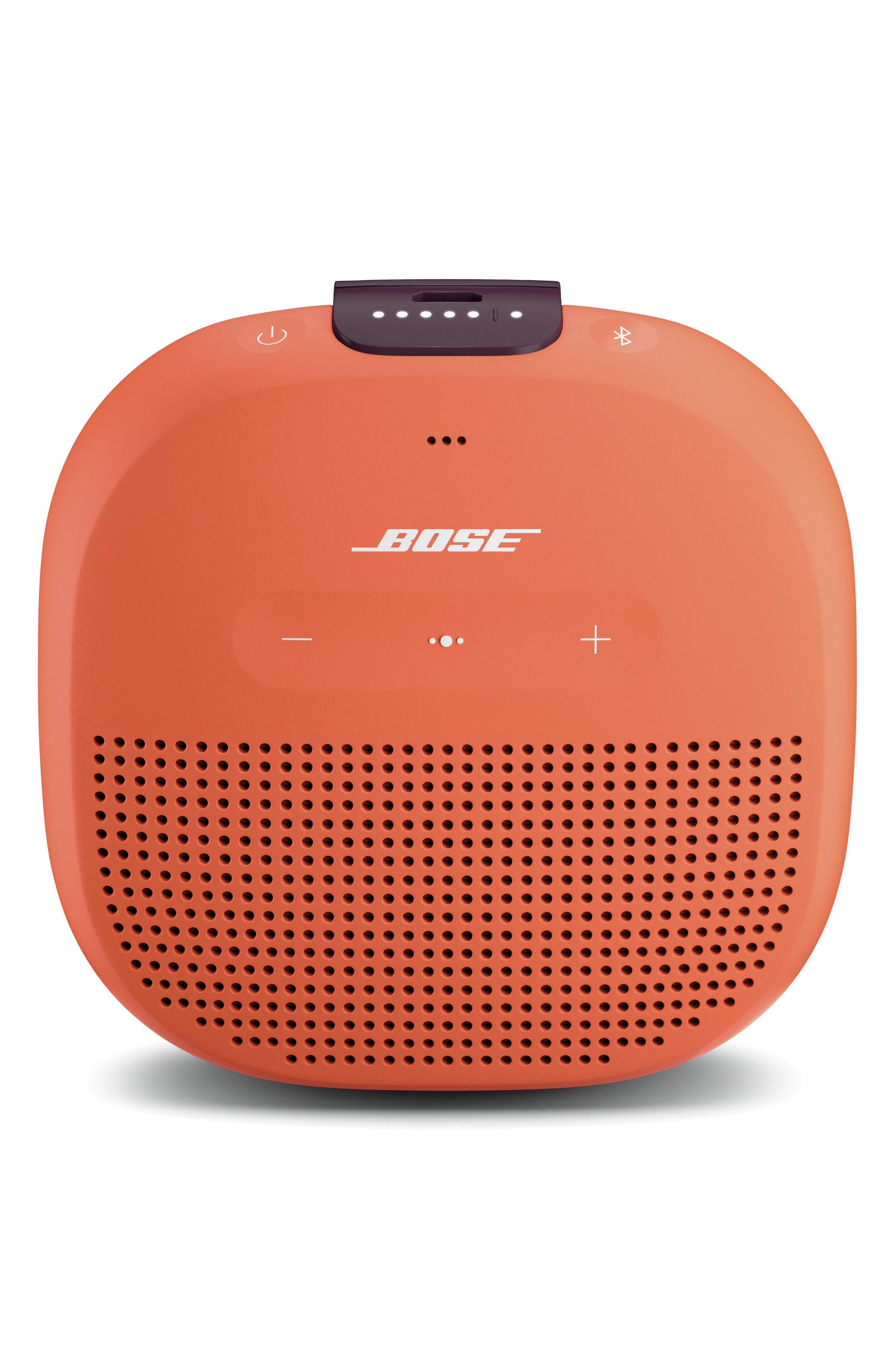 BOSE<SUP>®</SUP>, SoundLink<sup>®</sup> Micro Bluetooth<sup>®</sup> Speaker, Main thumbnail 1, color, ORANGE
