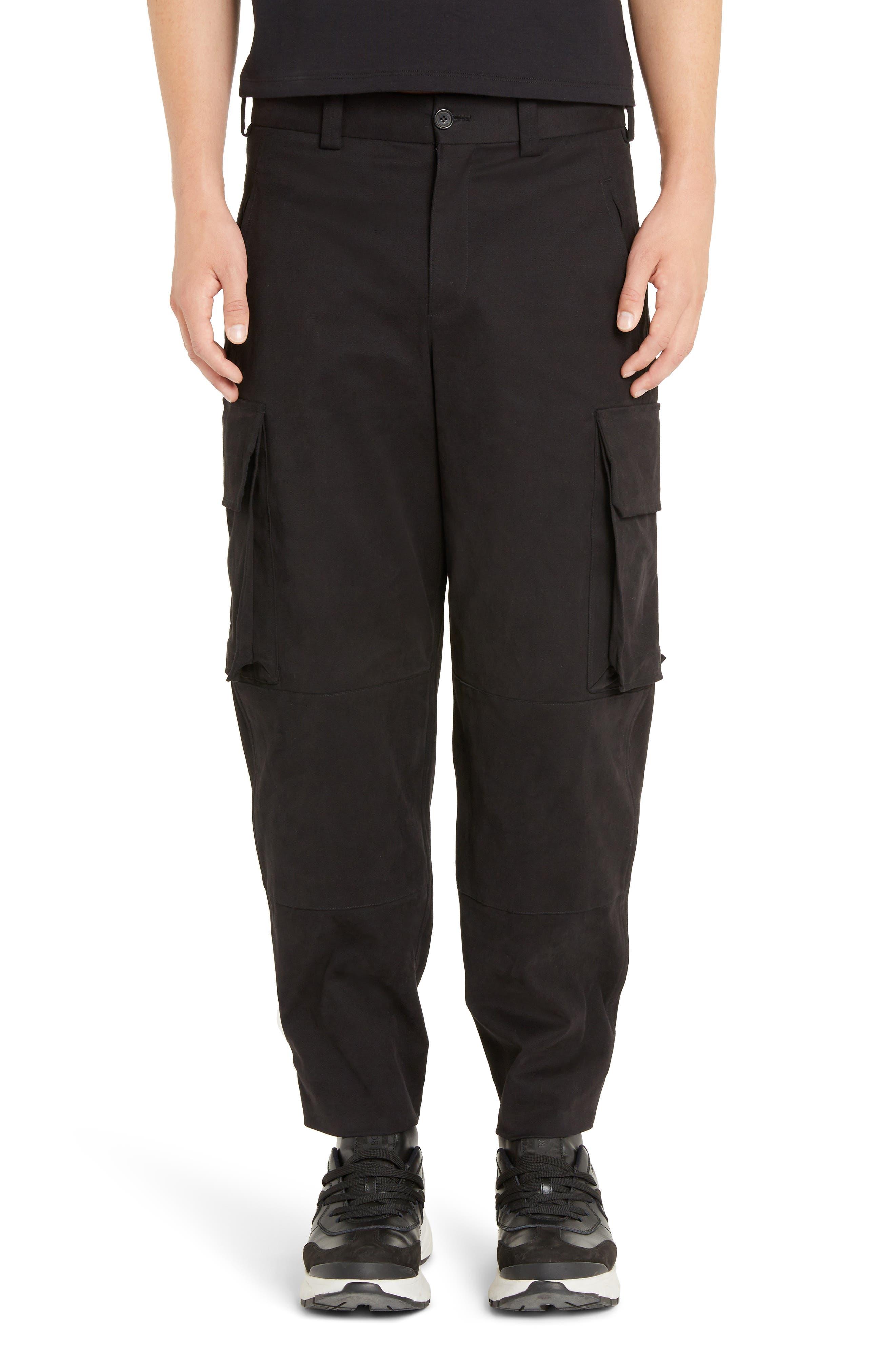 Neil Barrett Cargo Pants, Black