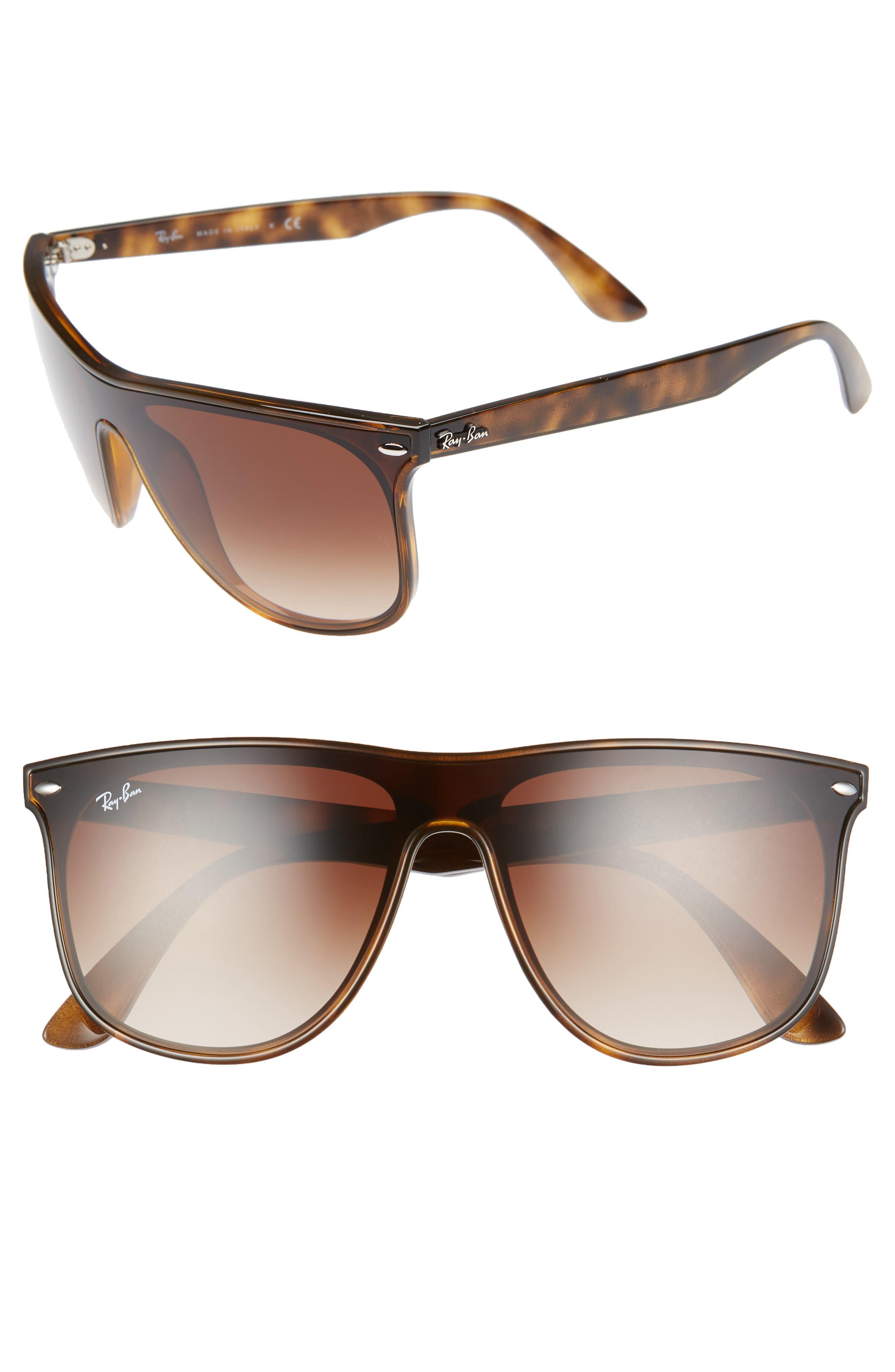 Ray-Ban 14m Shield Sunglasses - Havana Gradient