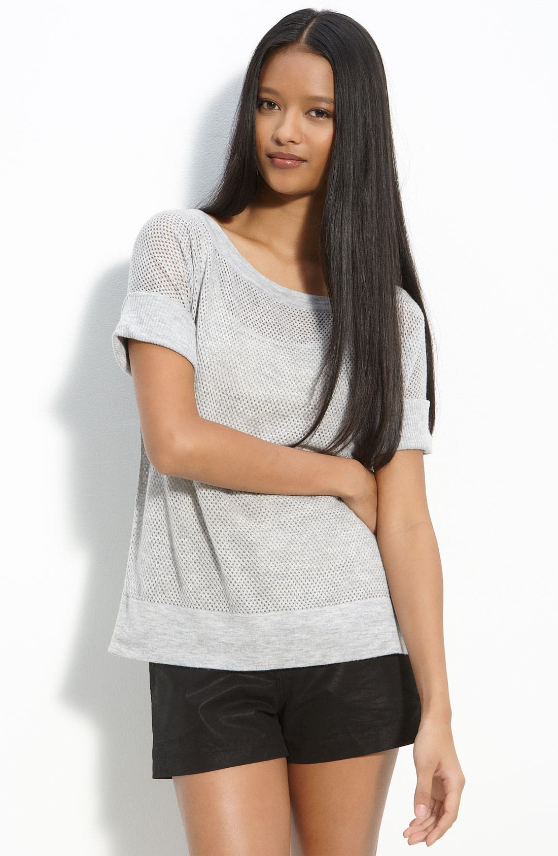JAMES PERSE Open Stitch Sweater, Main, color, 092