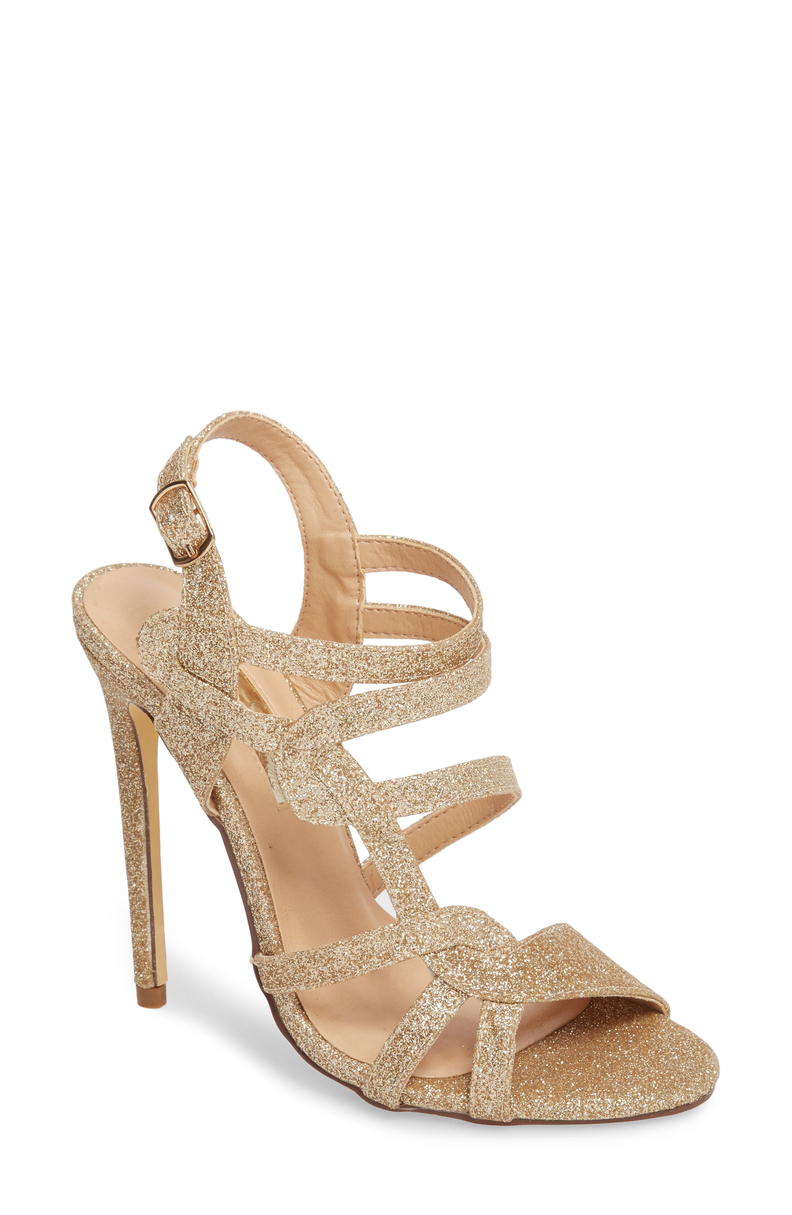 LAUREN LORRAINE Gidget Sandal, Main, color, NUDE FABRIC