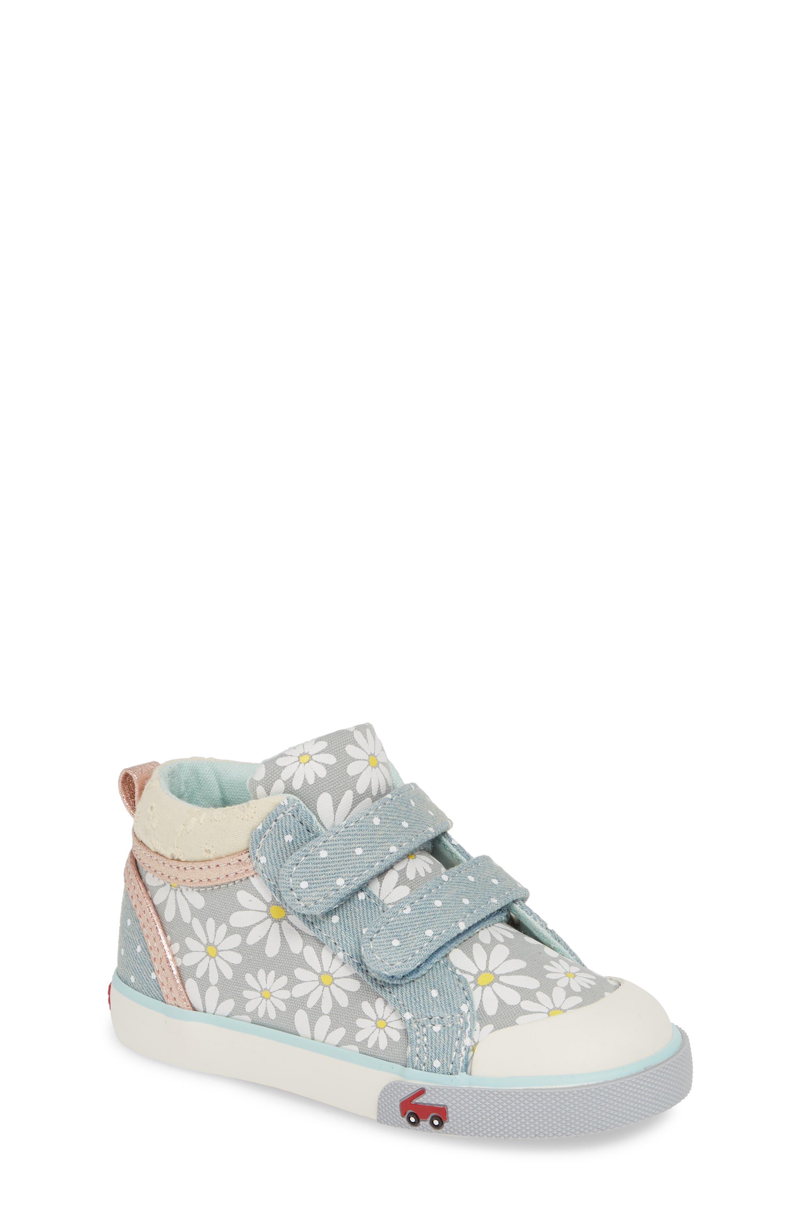 SEE KAI RUN Kya Sneaker, Main, color, GRAY DAISY