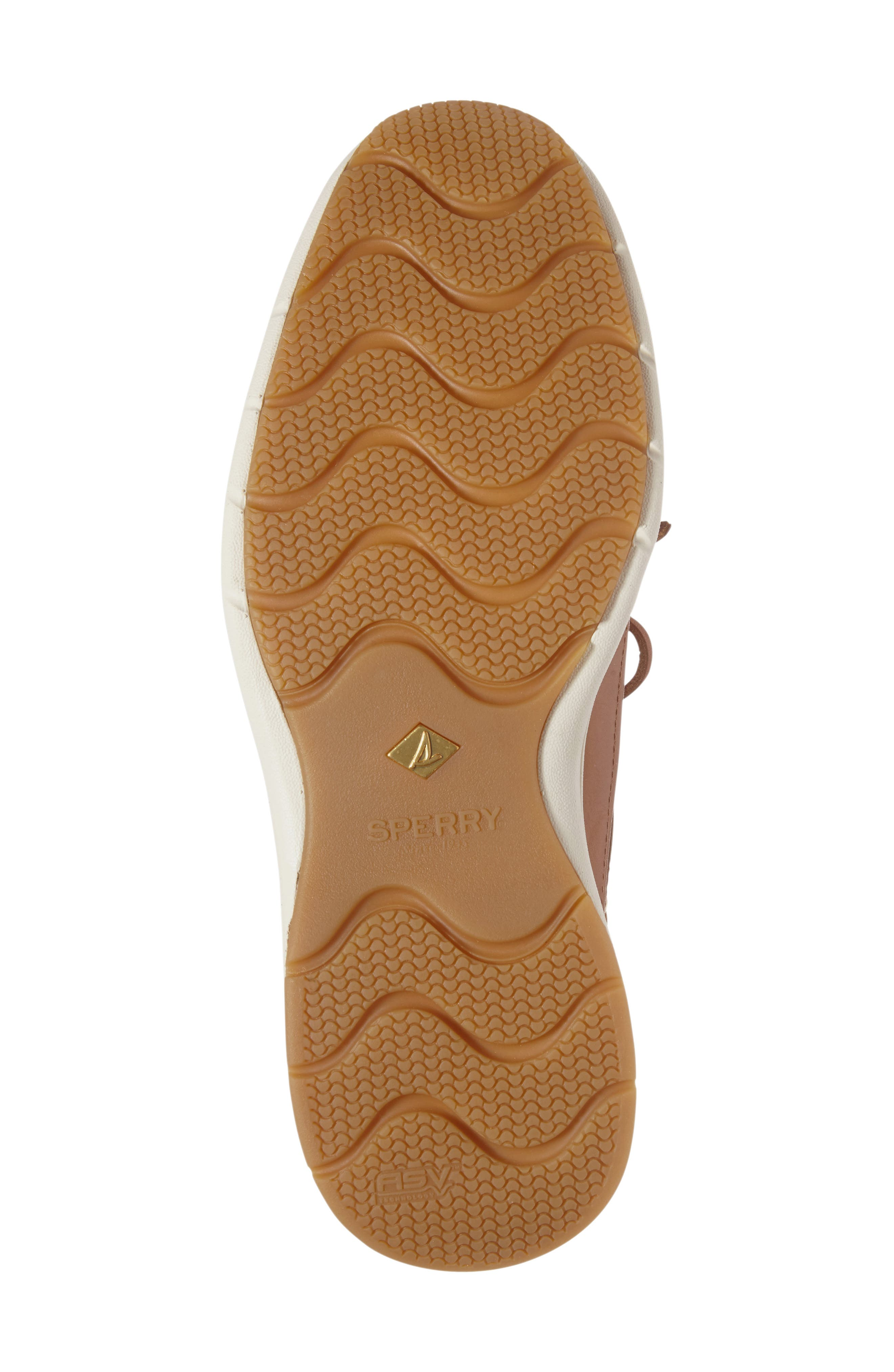 SPERRY, Gold Cup Ultralite Boat Shoe, Alternate thumbnail 4, color, TAN
