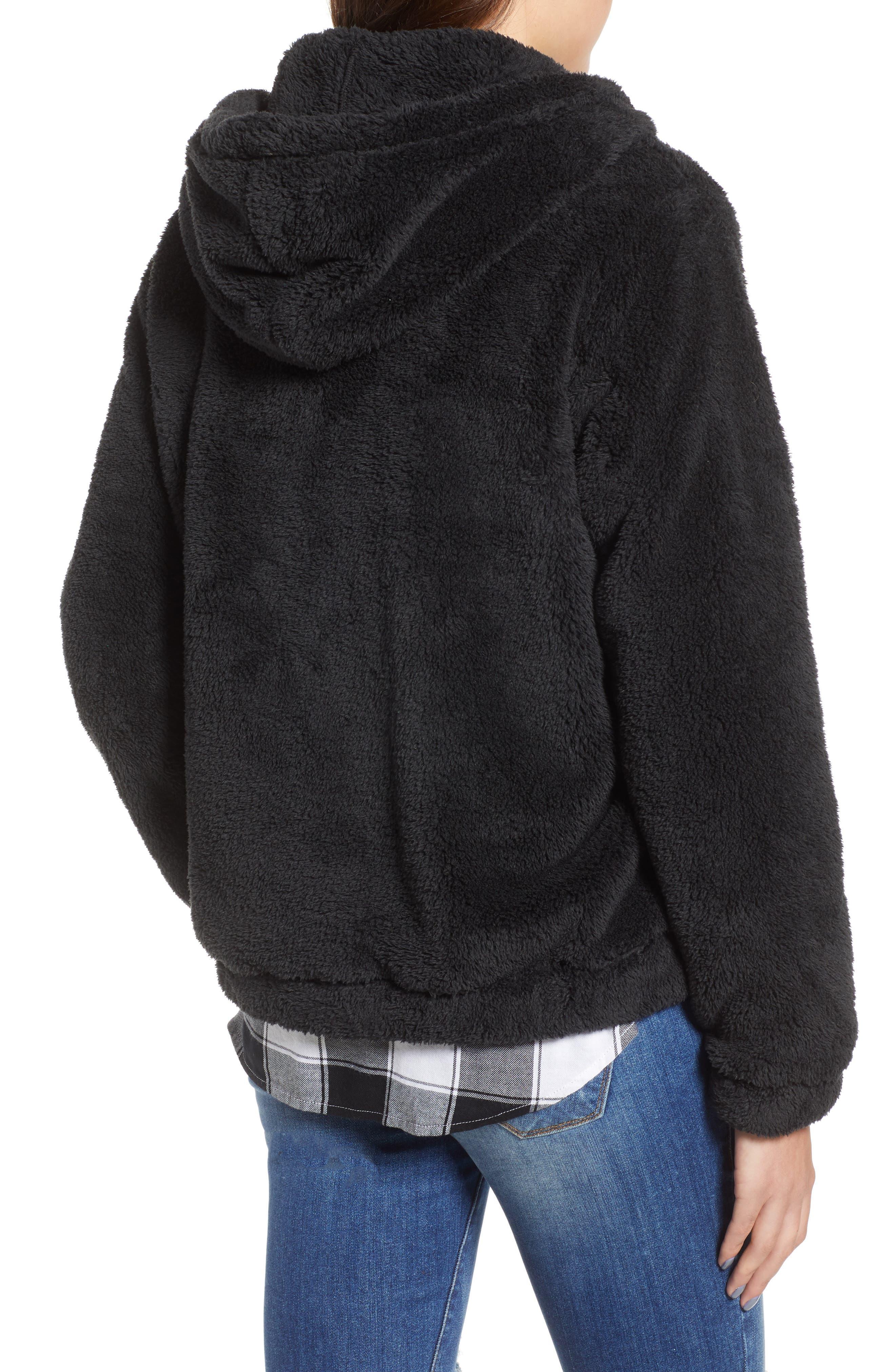 BILLABONG, Cozy For Keeps Fleece Pullover, Alternate thumbnail 2, color, 001