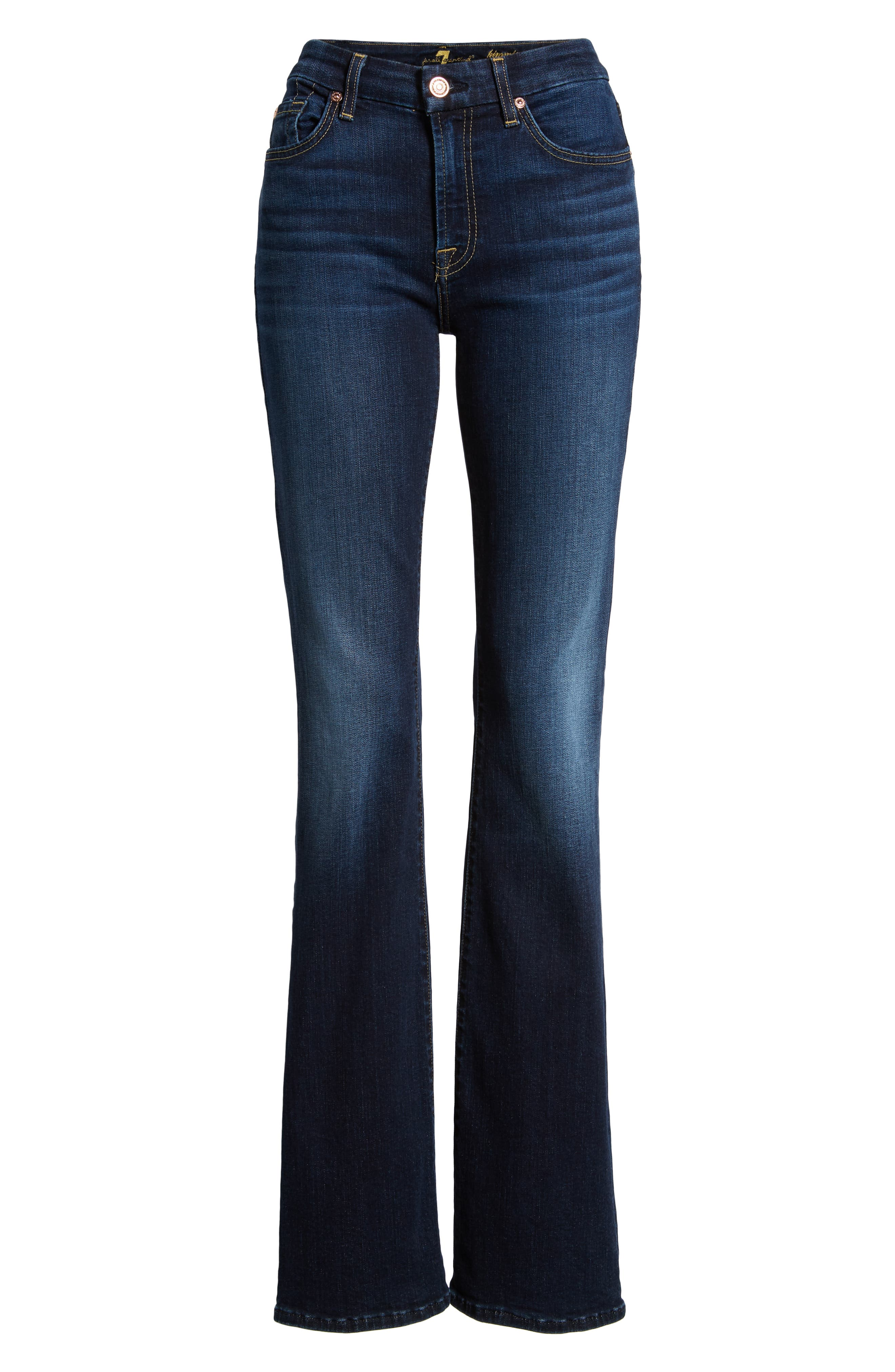 7 FOR ALL MANKIND<SUP>®</SUP>, b(air) Kimmie Bootcut Jeans, Alternate thumbnail 7, color, AUTHENTIC FATE