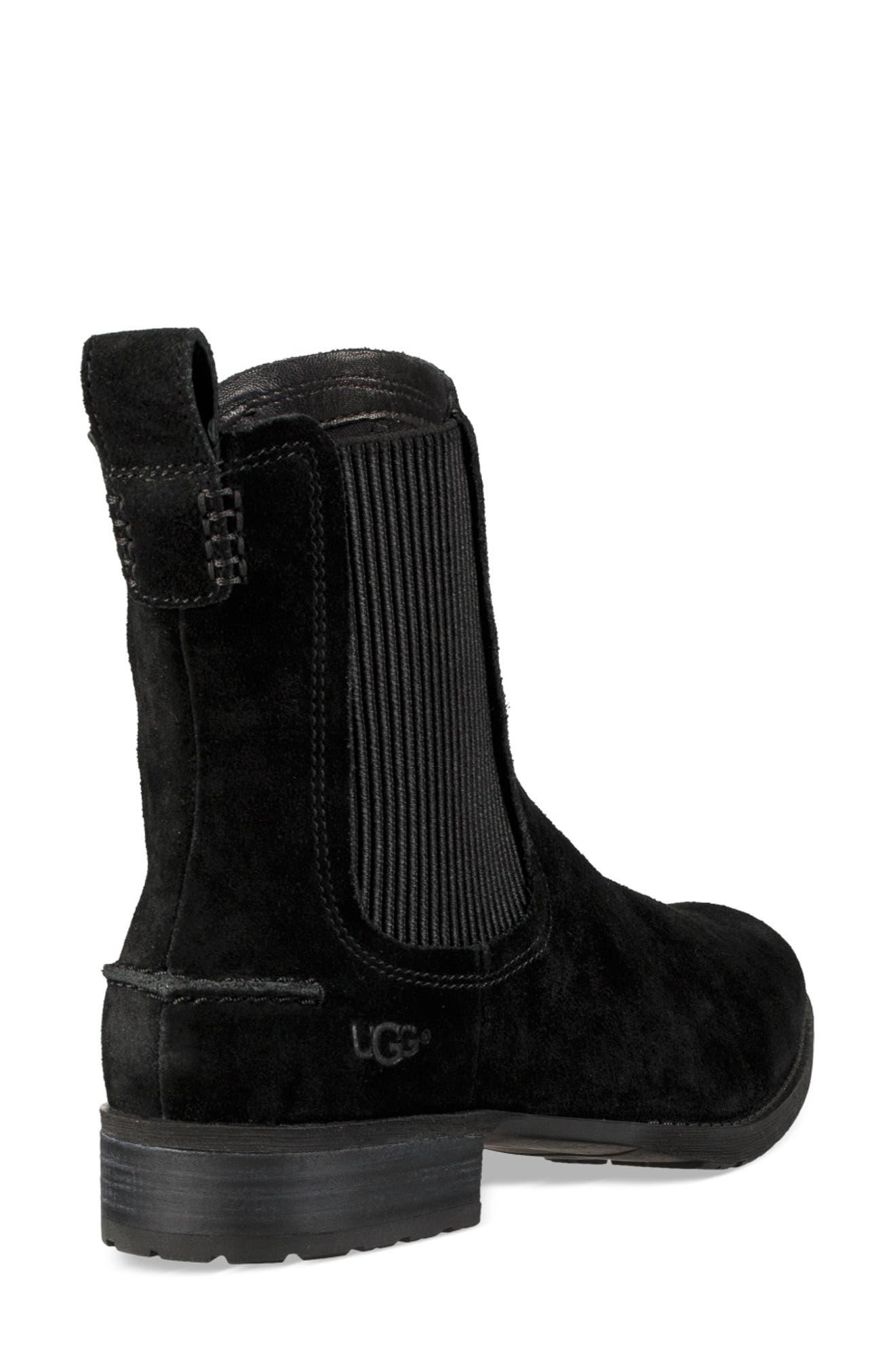 UGG<SUP>®</SUP>, Hillhurst Chelsea Boot, Alternate thumbnail 2, color, 001