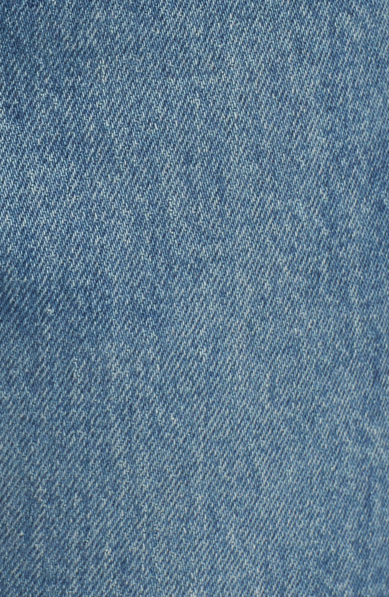 LEVI'S<SUP>®</SUP>, Wedgie Icon Fit High Waist Ankle Jeans, Alternate thumbnail 6, color, THESE DREAMS