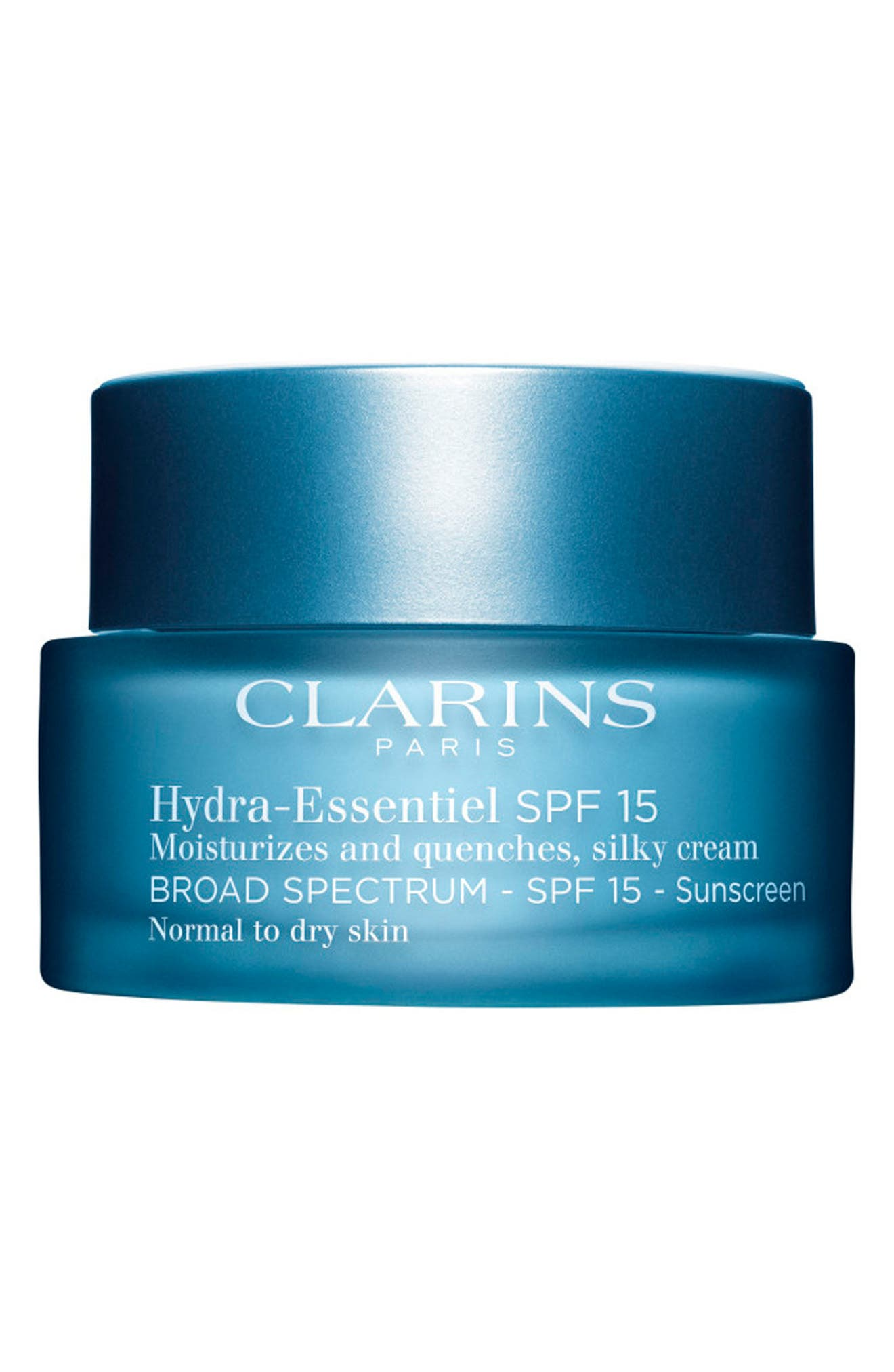 CLARINS Hydra-Essentiel Silk Cream SPF 15, Main, color, NO COLOR