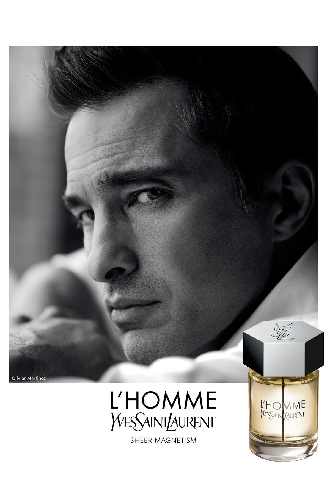 YVES SAINT LAURENT, L'Homme Eau de Toilette, Alternate thumbnail 6, color, NO COLOR