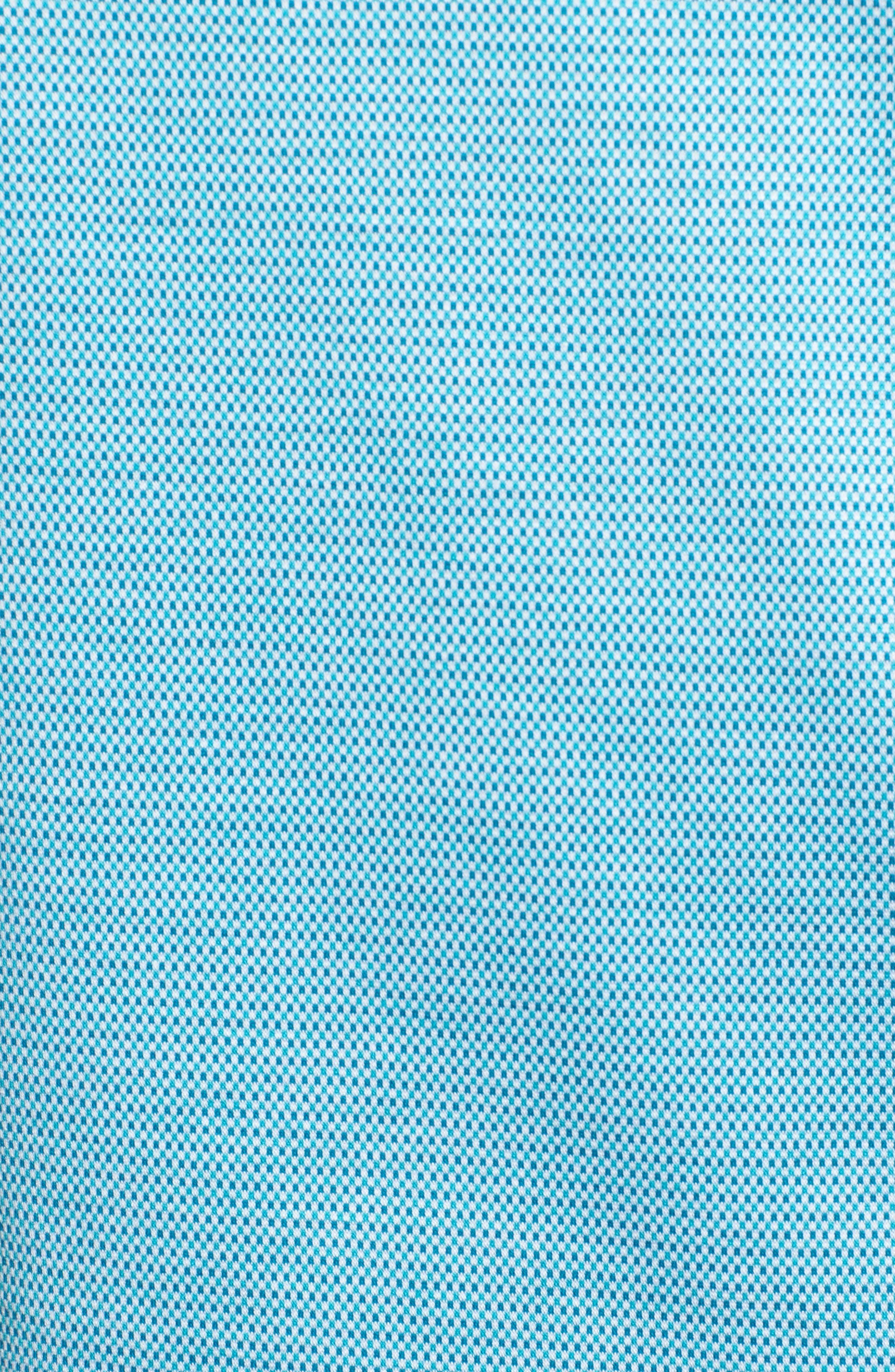 BUGATCHI, Dot Mercerized Cotton Polo, Alternate thumbnail 5, color, 425
