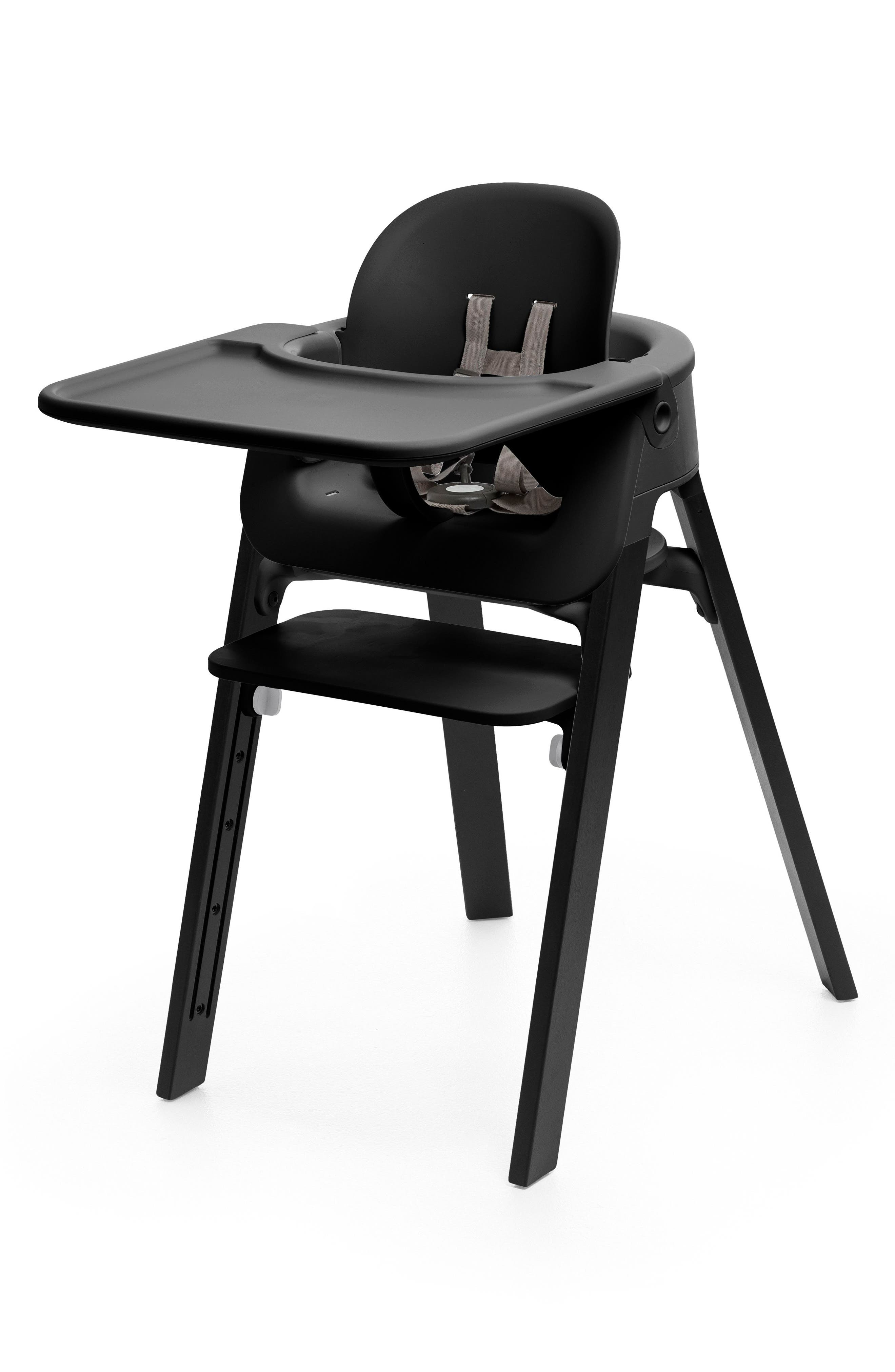 STOKKE 'Steps<sup>™</sup>' Baby Set Tray, Main, color, BLACK