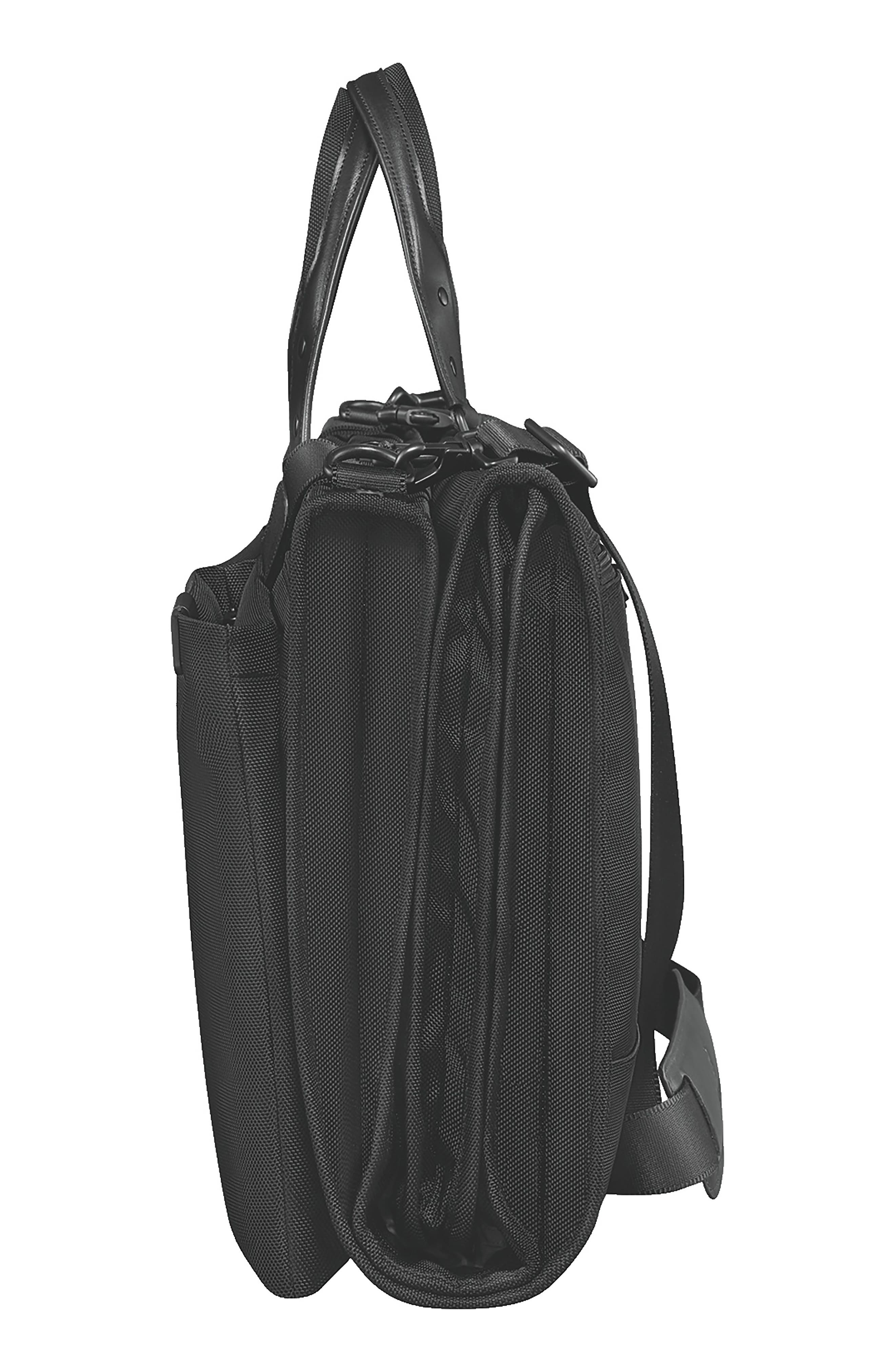 VICTORINOX SWISS ARMY<SUP>®</SUP>, Lexicon 2.0 Trifold Garment Bag, Alternate thumbnail 3, color, BLACK