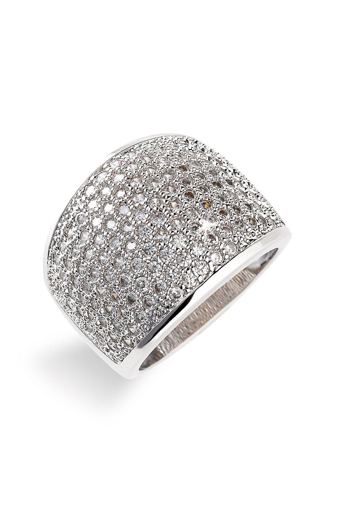 ARIELLA COLLECTION Pavé Ring, Main, color, 040