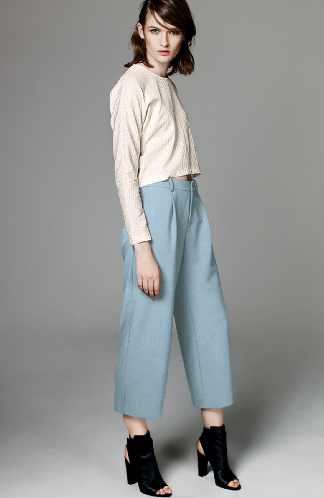 CHELSEA28, Wide Leg Crop Pants, Main thumbnail 1, color, 410