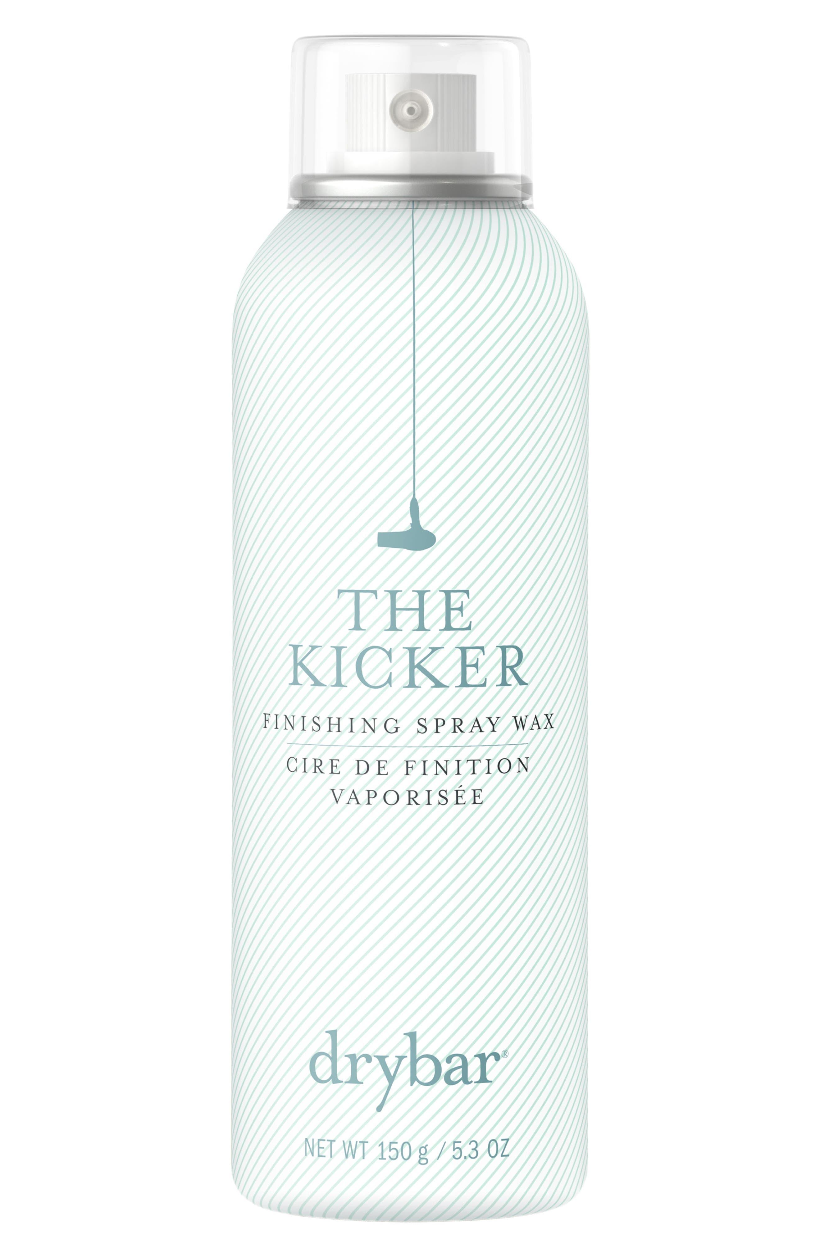DRYBAR The Kicker Finishing Spray Wax, Main, color, NO COLOR