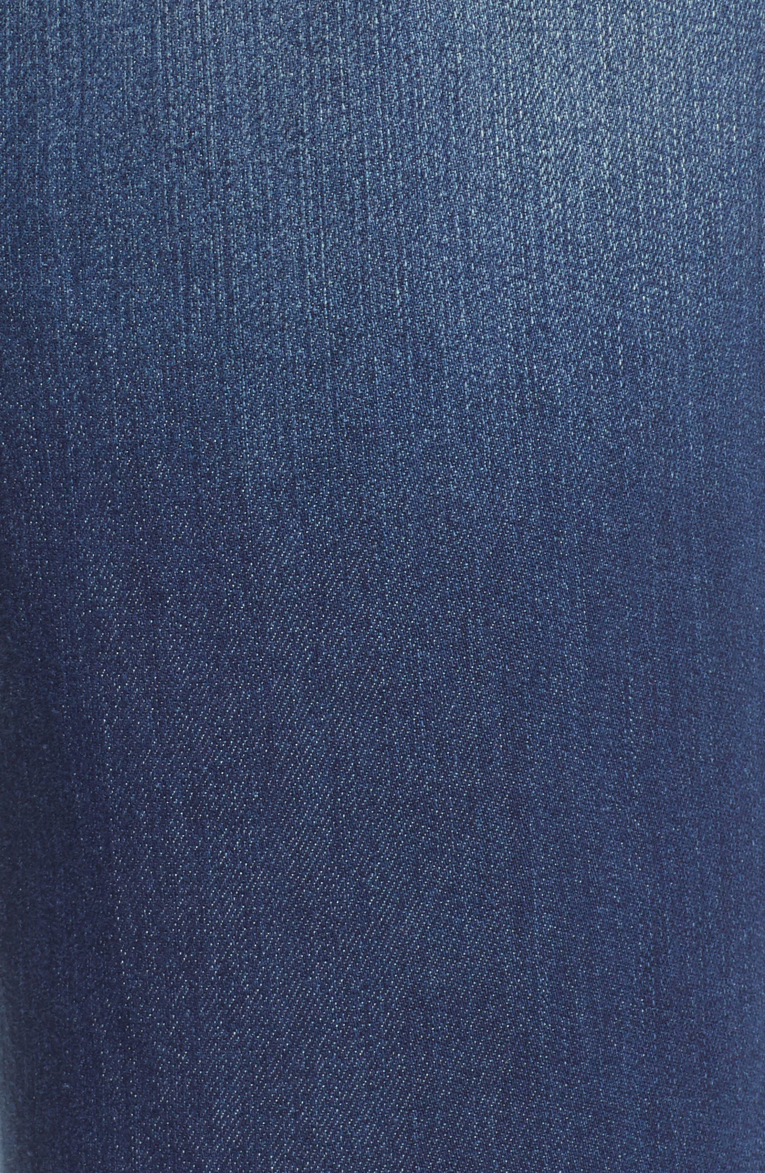 WIT & WISDOM, Ab-Solution Ankle Skimmer Jeans, Alternate thumbnail 6, color, BLUE