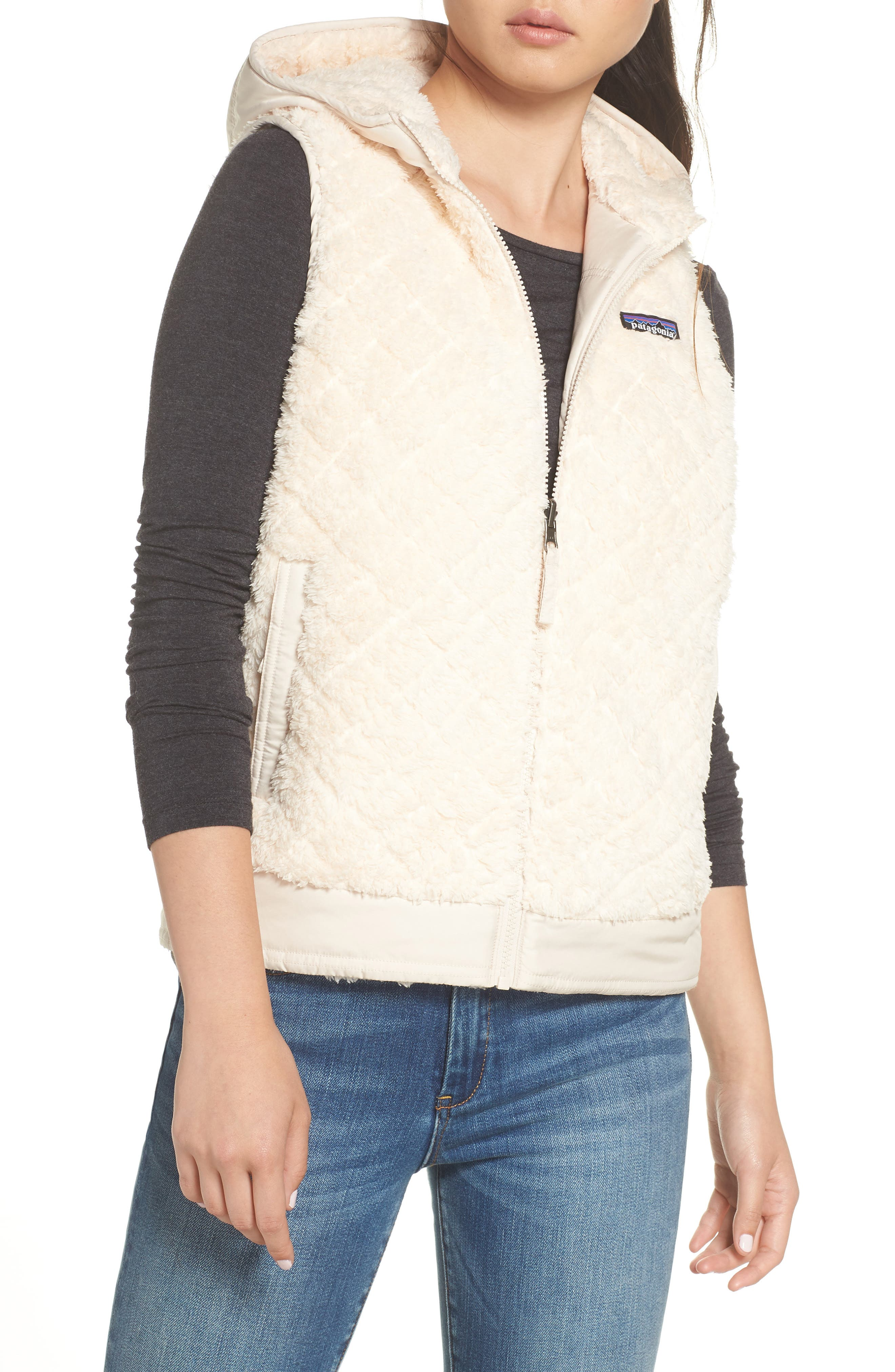 PATAGONIA, Los Gatos Reversible Vest, Main thumbnail 1, color, 251