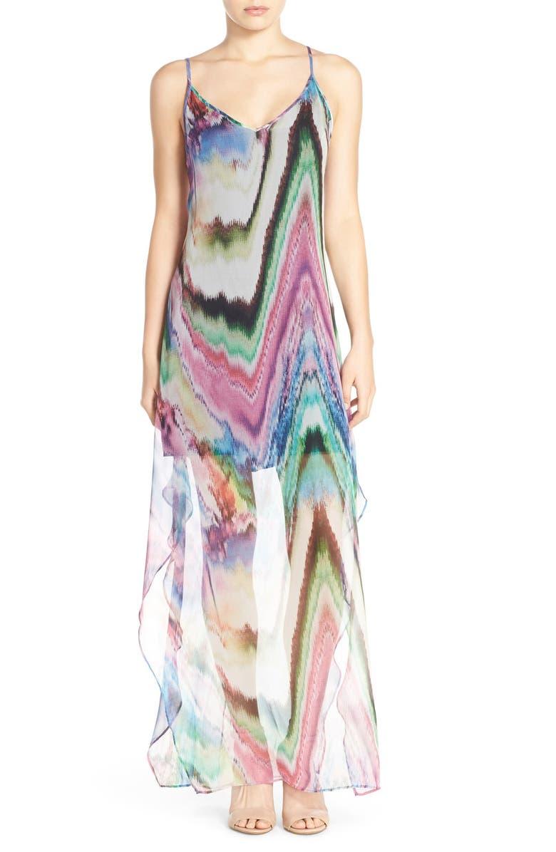 036c95287c987 Charlie Jade Print Silk Chiffon Maxi Dress | Nordstrom