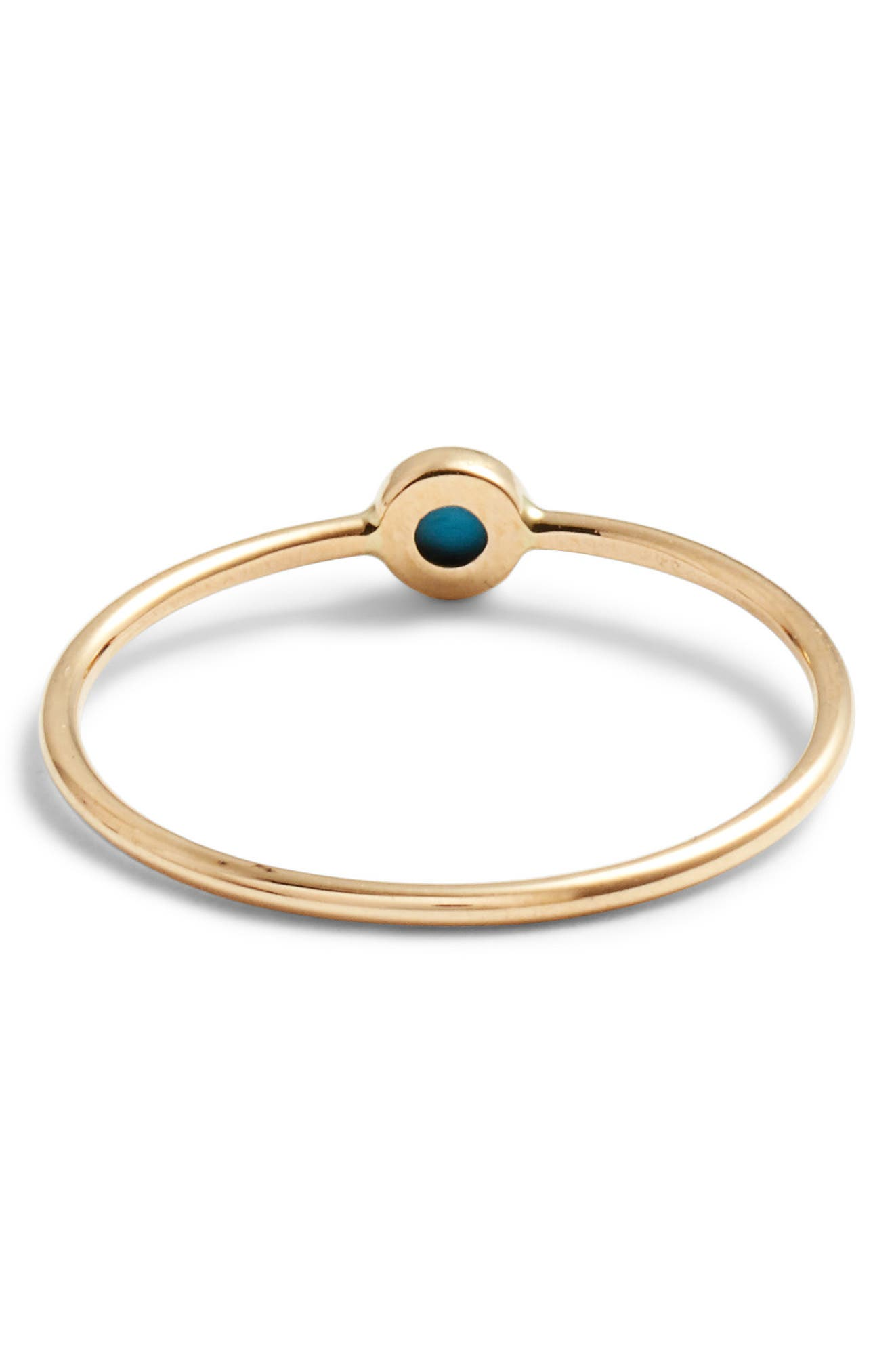 ZOË CHICCO, Turquoise Stacking Ring, Alternate thumbnail 3, color, TURQUOISE