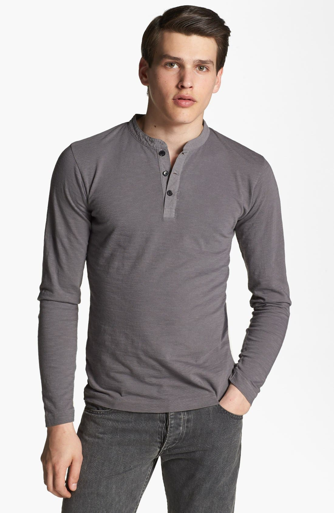 BILLY REID Slub Henley, Main, color, 010