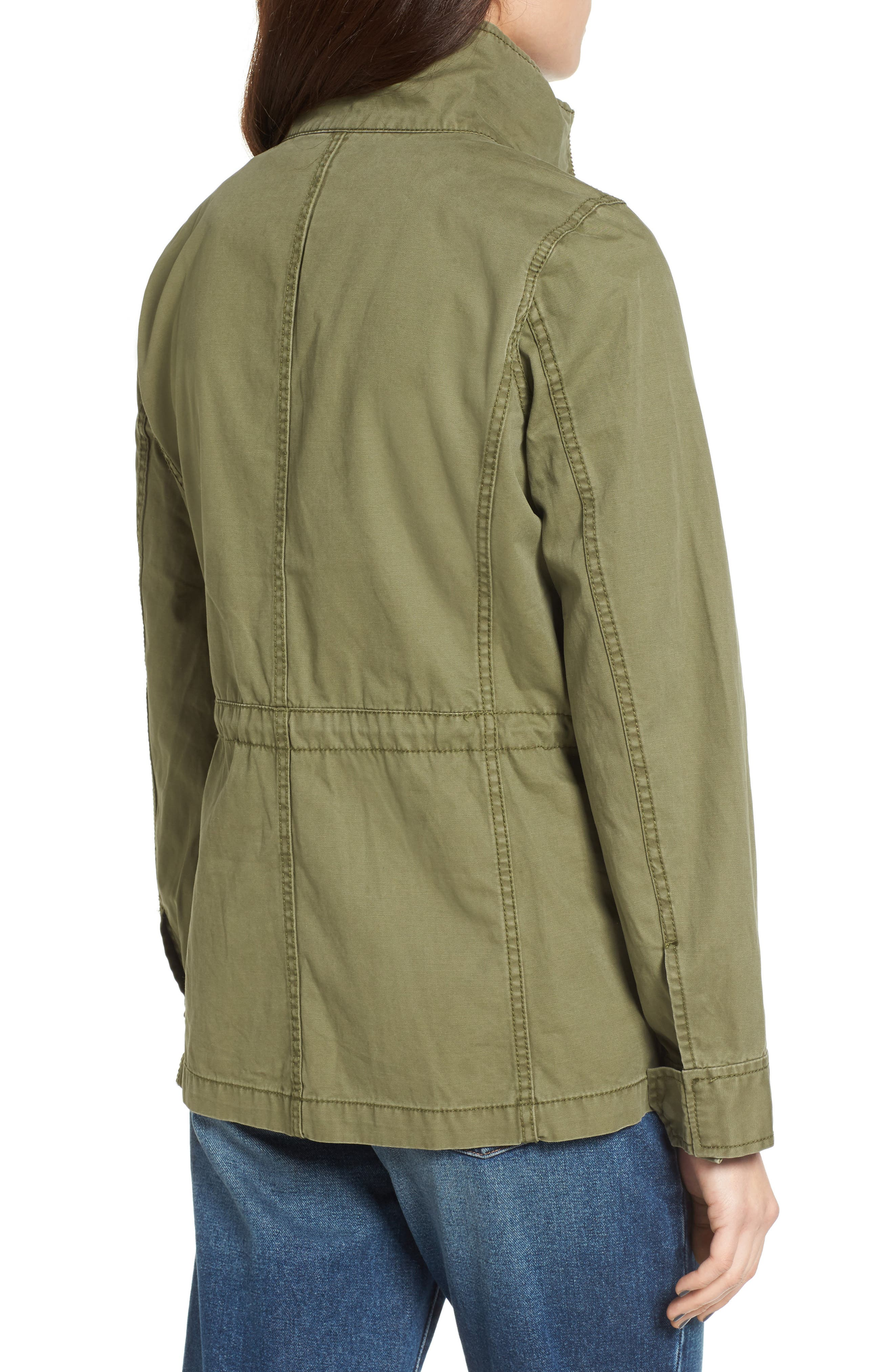 MADEWELL, Fleet Jacket, Alternate thumbnail 2, color, MILITARY SURPLUS