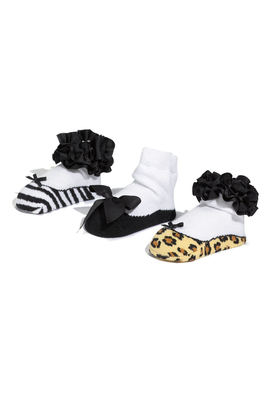 MUD PIE Socks Set, Main, color, 004