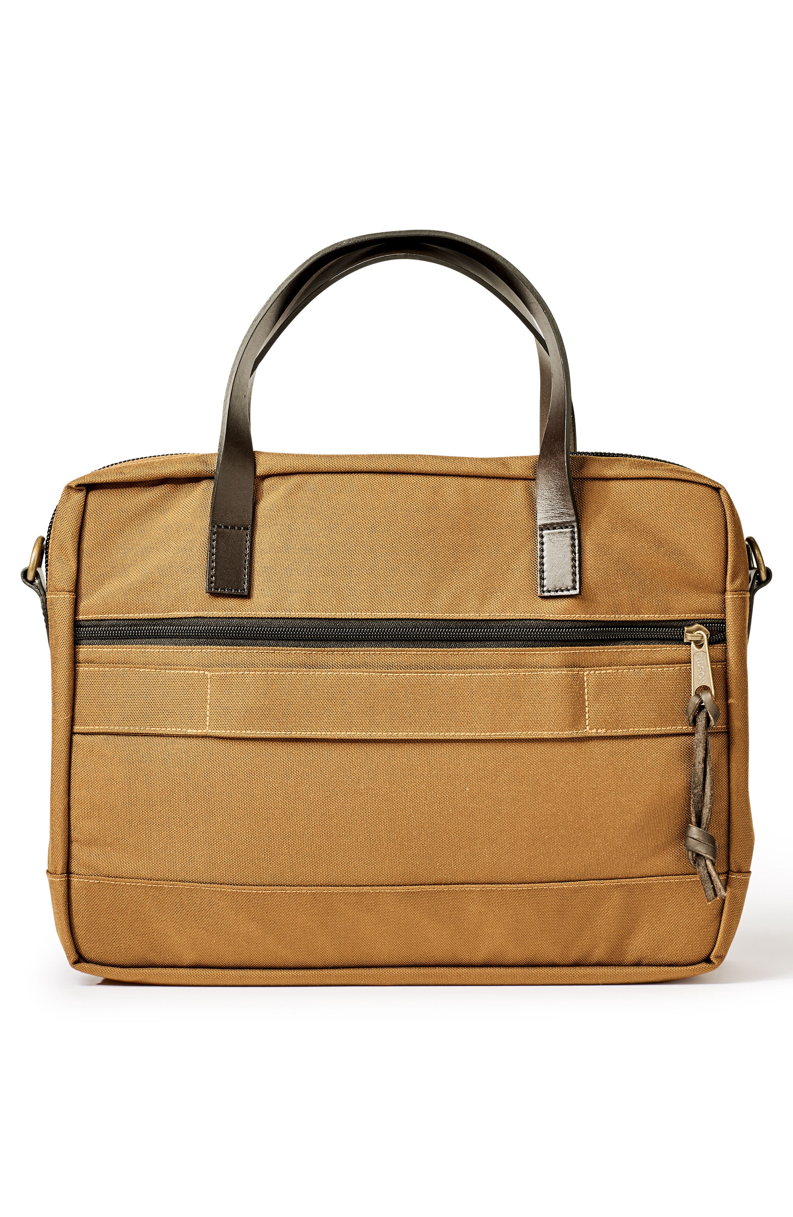 FILSON, Dryden Briefcase, Alternate thumbnail 2, color, WHISKEY