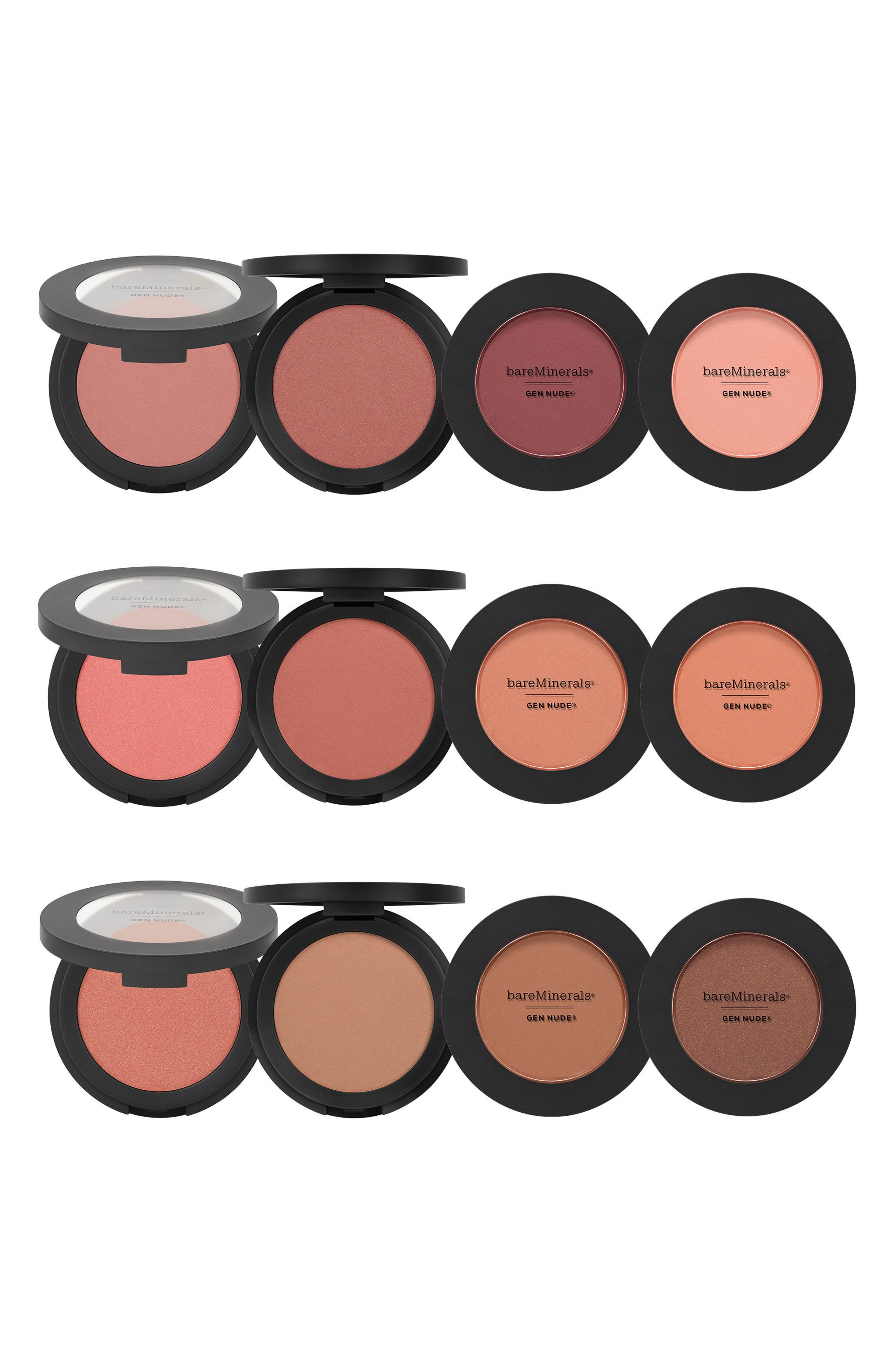 BAREMINERALS<SUP>®</SUP>, Gen Nude<sup>®</sup> Powder Blush, Alternate thumbnail 8, color, LETS GO NUDE
